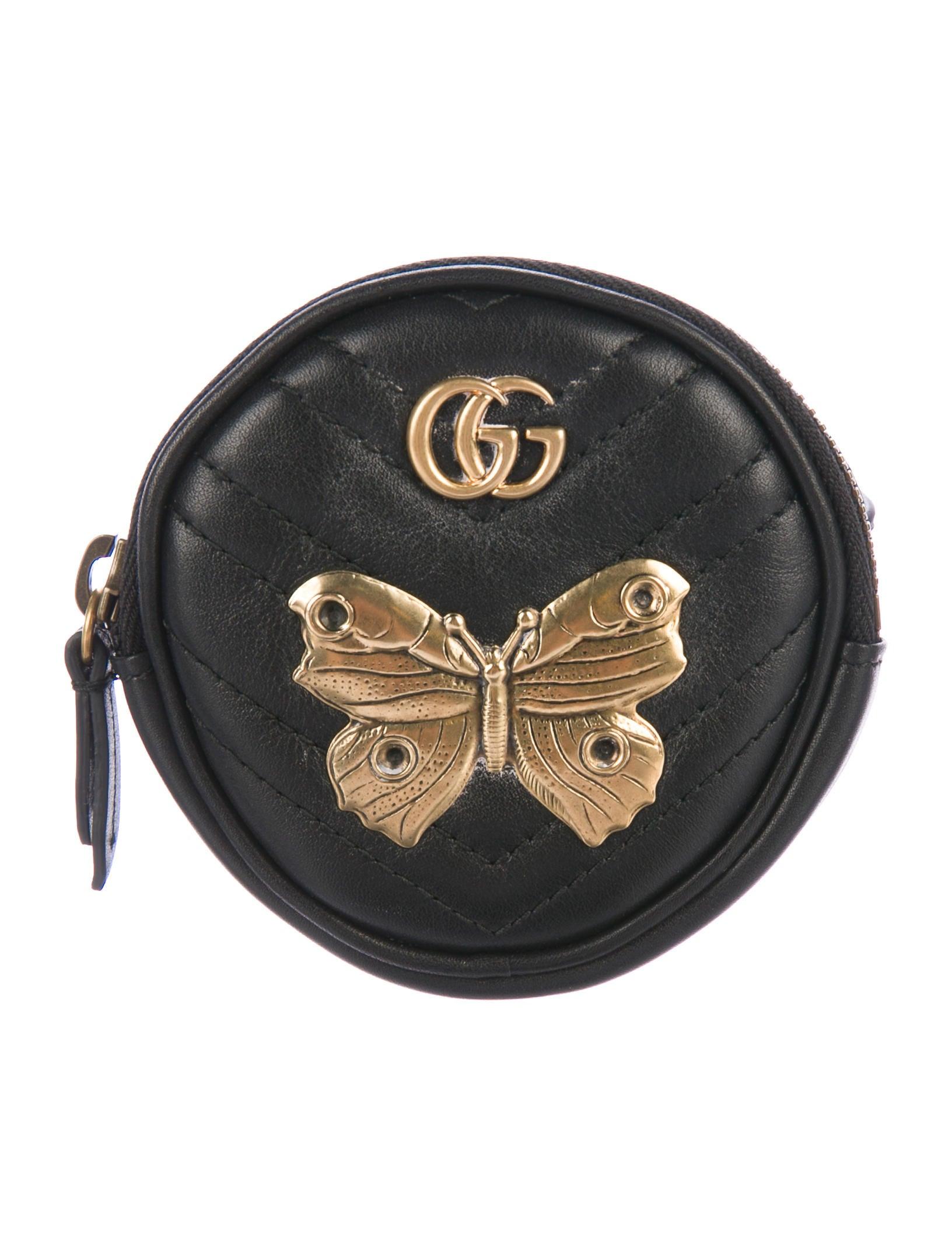 f251572dea3 Gucci GG Marmont Animal Studs Wrist Pouch - Accessories - GUC213435 ...