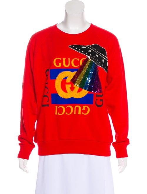 7147801ccff6 Gucci 2017 UFO Sweatshirt w/ Tags - Clothing - GUC213682   The RealReal