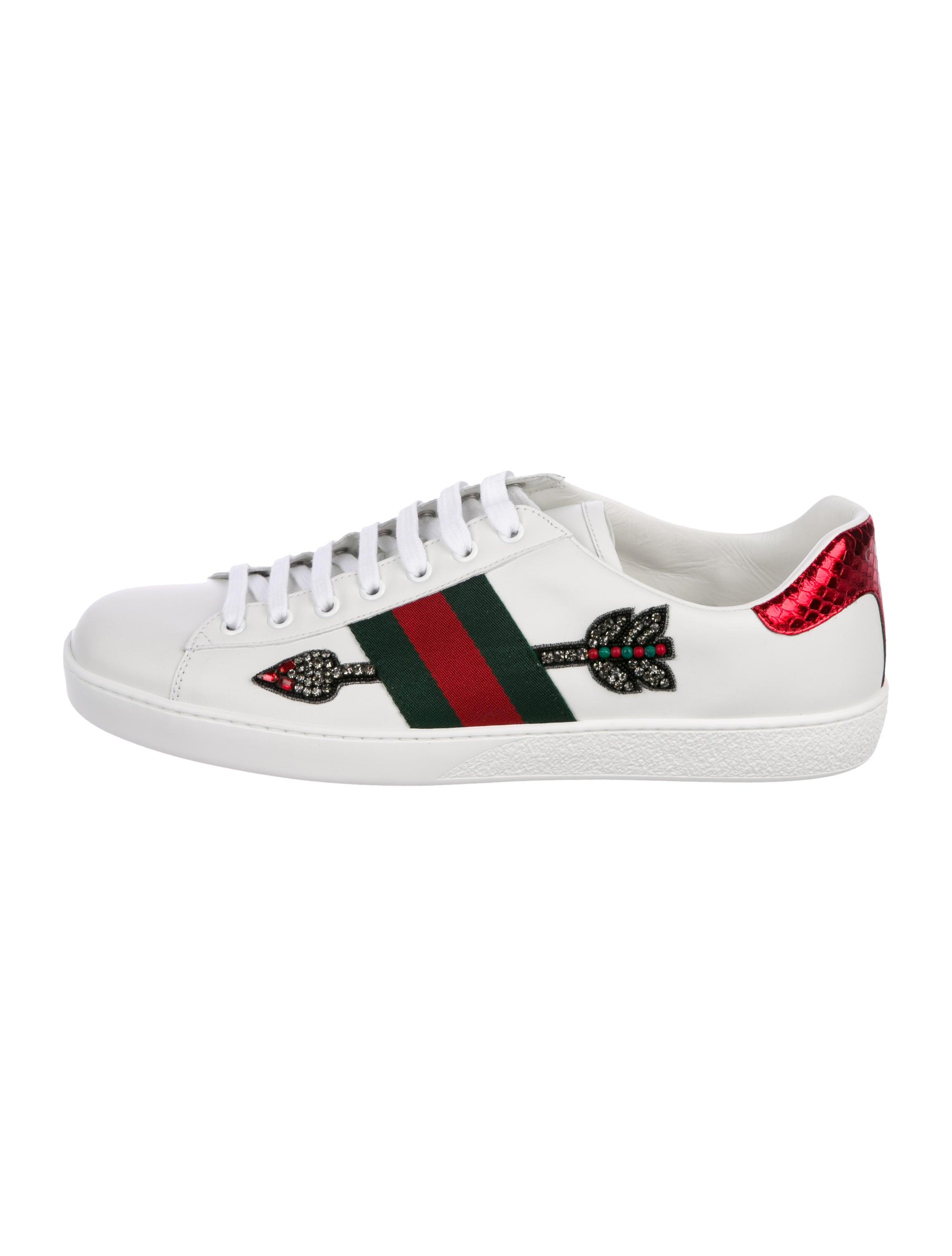 Gucci 2018 Bleeding Arrow Ace Sneakers