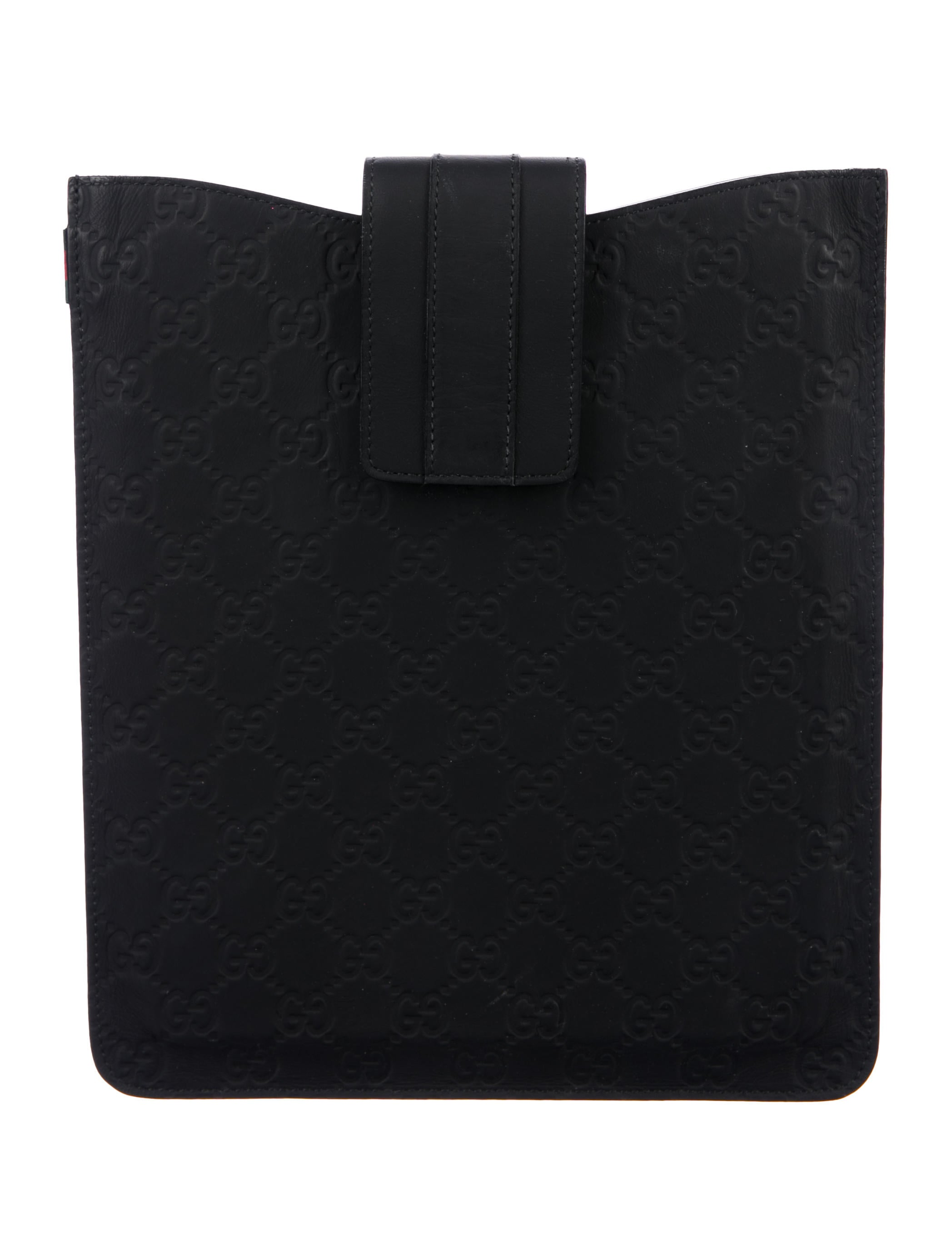 aa7690ca6e2 Gucci Guccissima iPad Sleeve - Technology - GUC217671