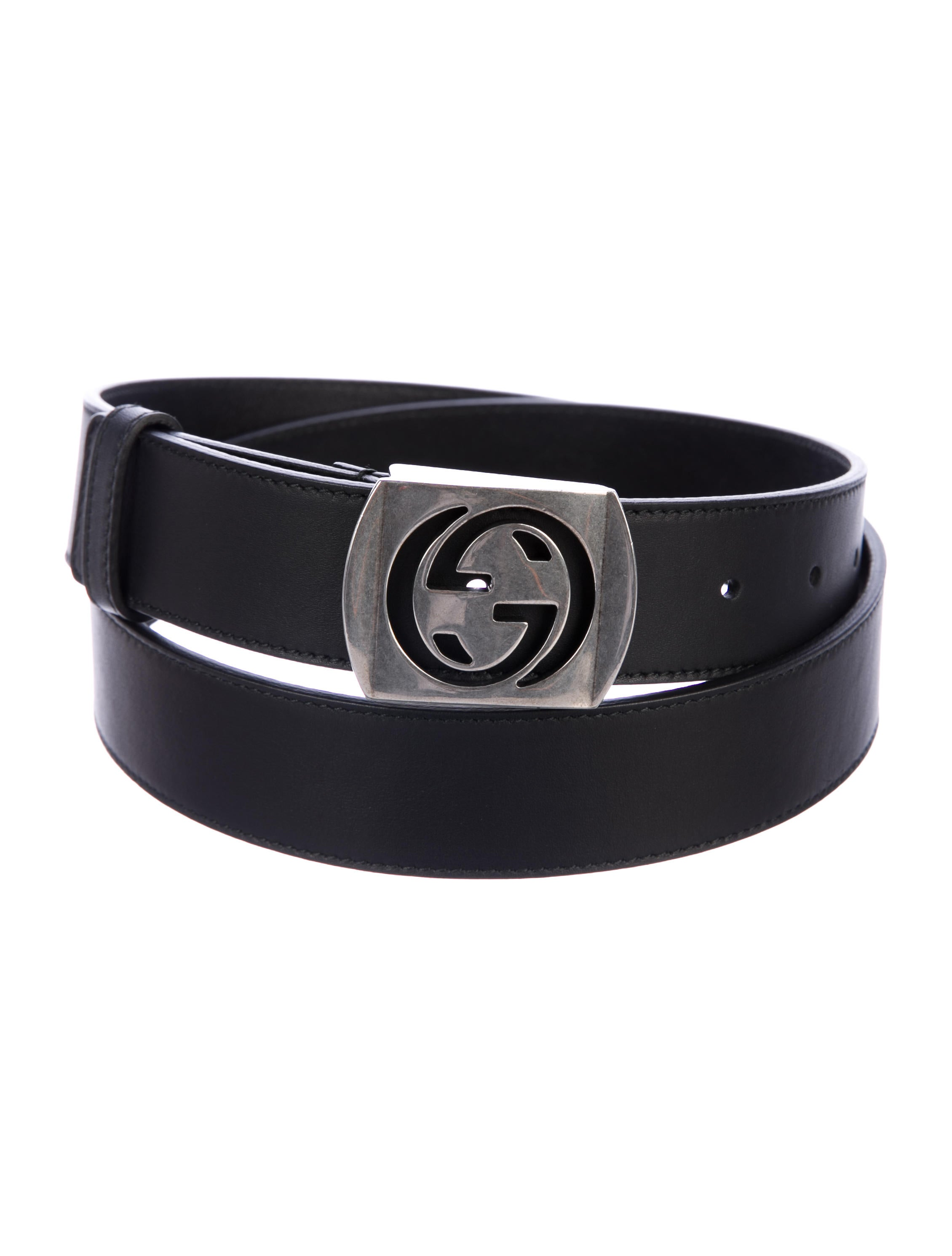 f2bfa0a33 Gucci GG Leather Belt - Accessories - GUC218267   The RealReal