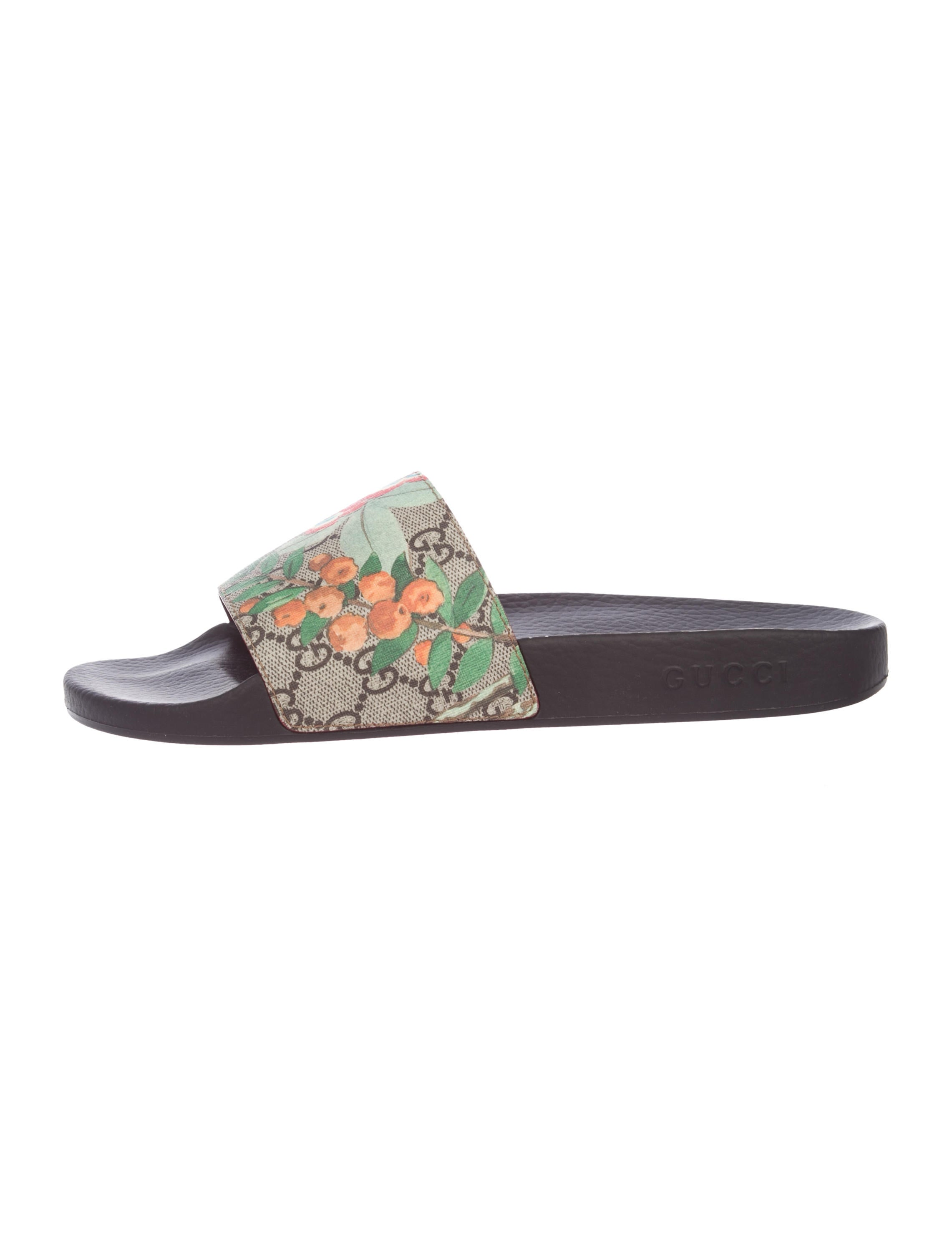 d98ad28f4dd3 Gucci GG Tian Slide Sandals w  Tags - Shoes - GUC218390