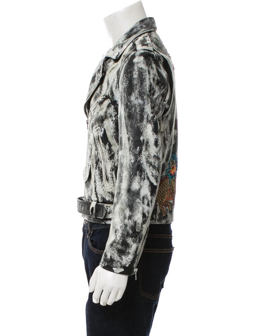 0fa6d630d Gucci Ghost Biker Jacket - Clothing - GUC220842 | The RealReal