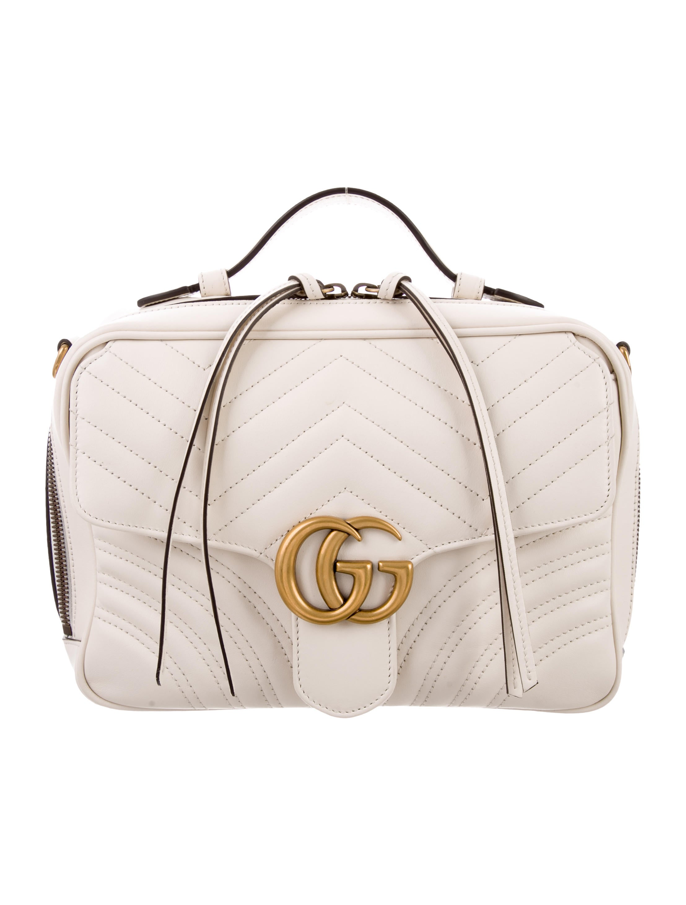 f800793a03de5b Gucci GG Marmont Small Camera Bag - Handbags - GUC220860 | The RealReal