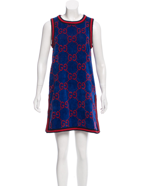 d283c75582f Gucci 2018 GG-Jacquard Towelling Dress w/ Tags - Clothing ...