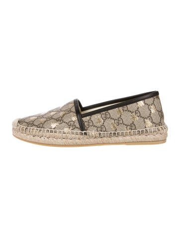 91683c4c3ac Gucci GG Supreme Bees Espadrilles - Shoes - GUC222137
