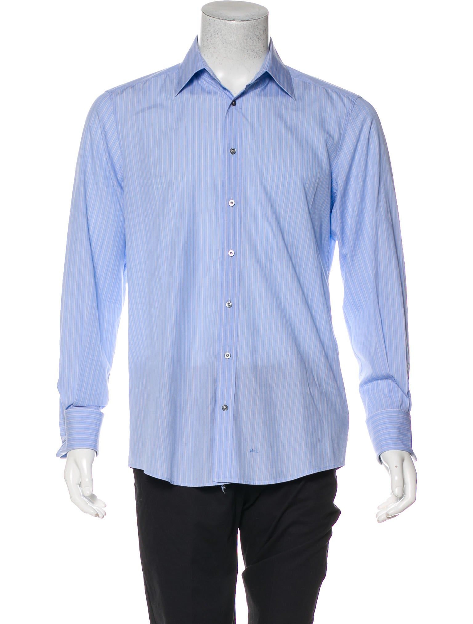 Gucci French Cuff Dress Shirt Clothing Guc222282 The Realreal