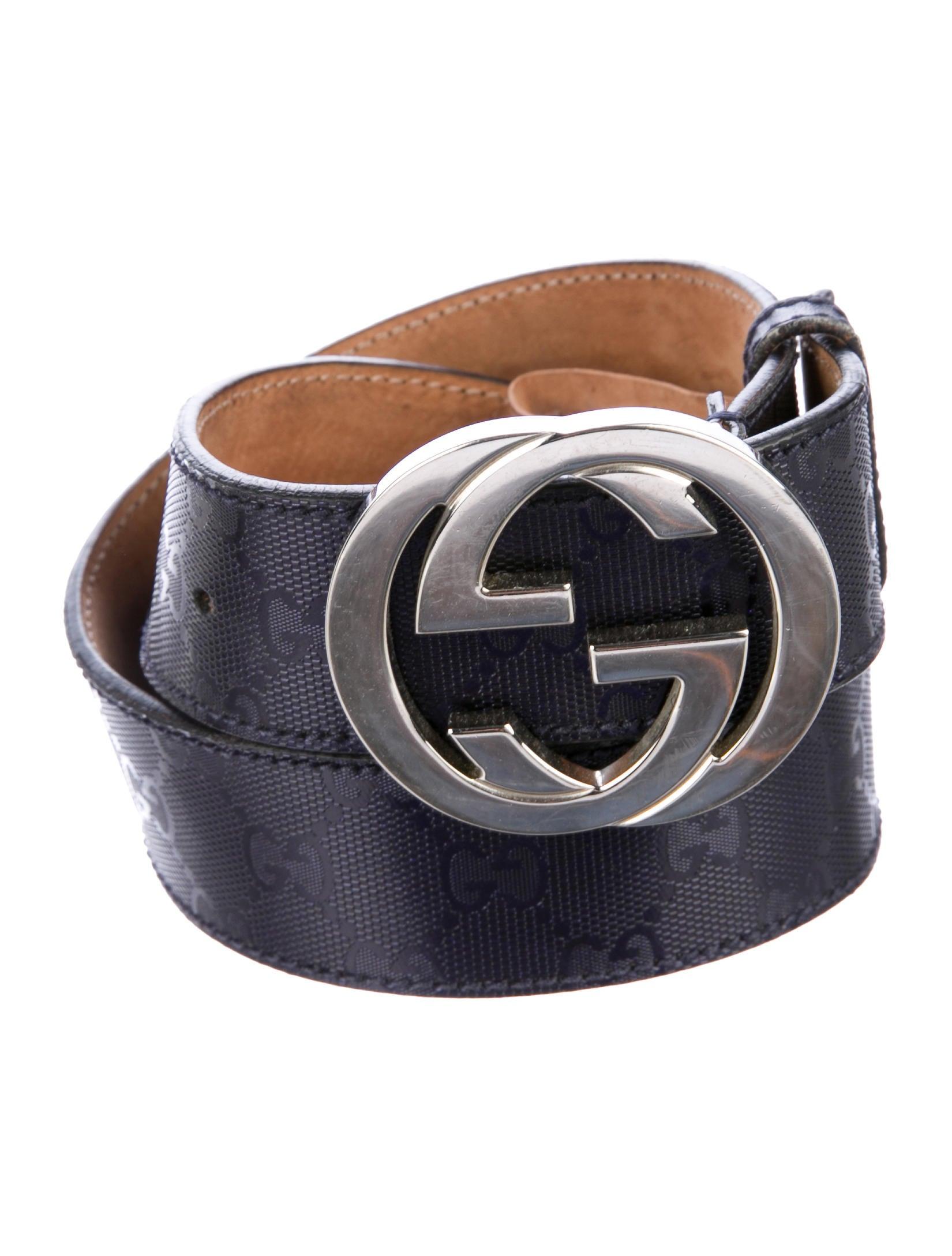 660dd8c26dd Gucci GG Imprimé Belt - Accessories - GUC223205