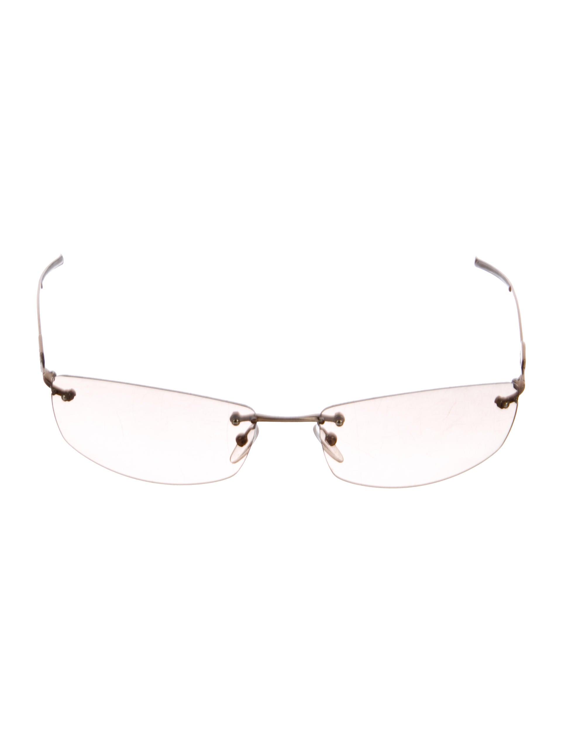 a0ad596556e Gucci Strass Rimless Sunglasses - Accessories - GUC225273
