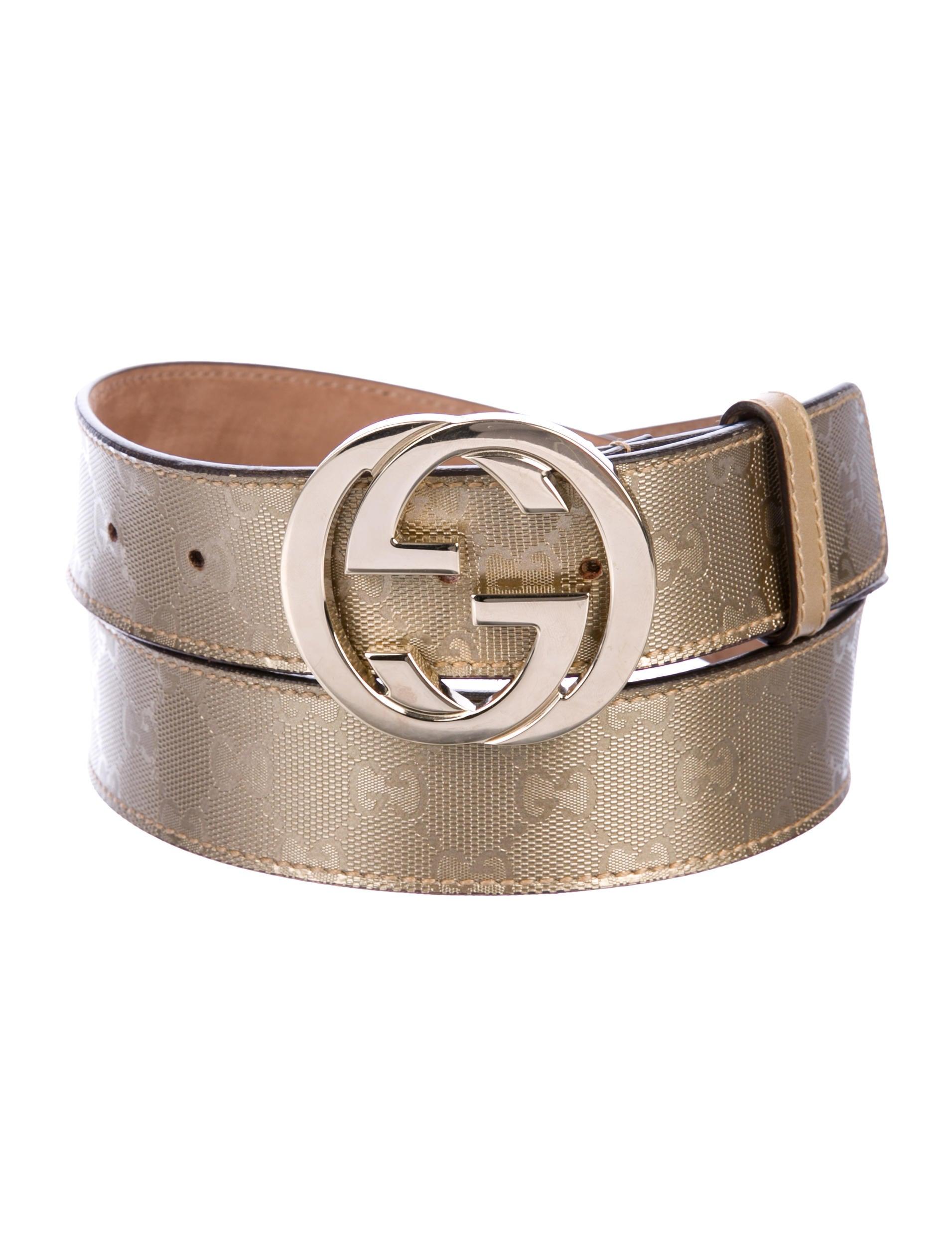 e1dc6ca14d1 Gucci GG Imprimé Belt - Accessories - GUC229950