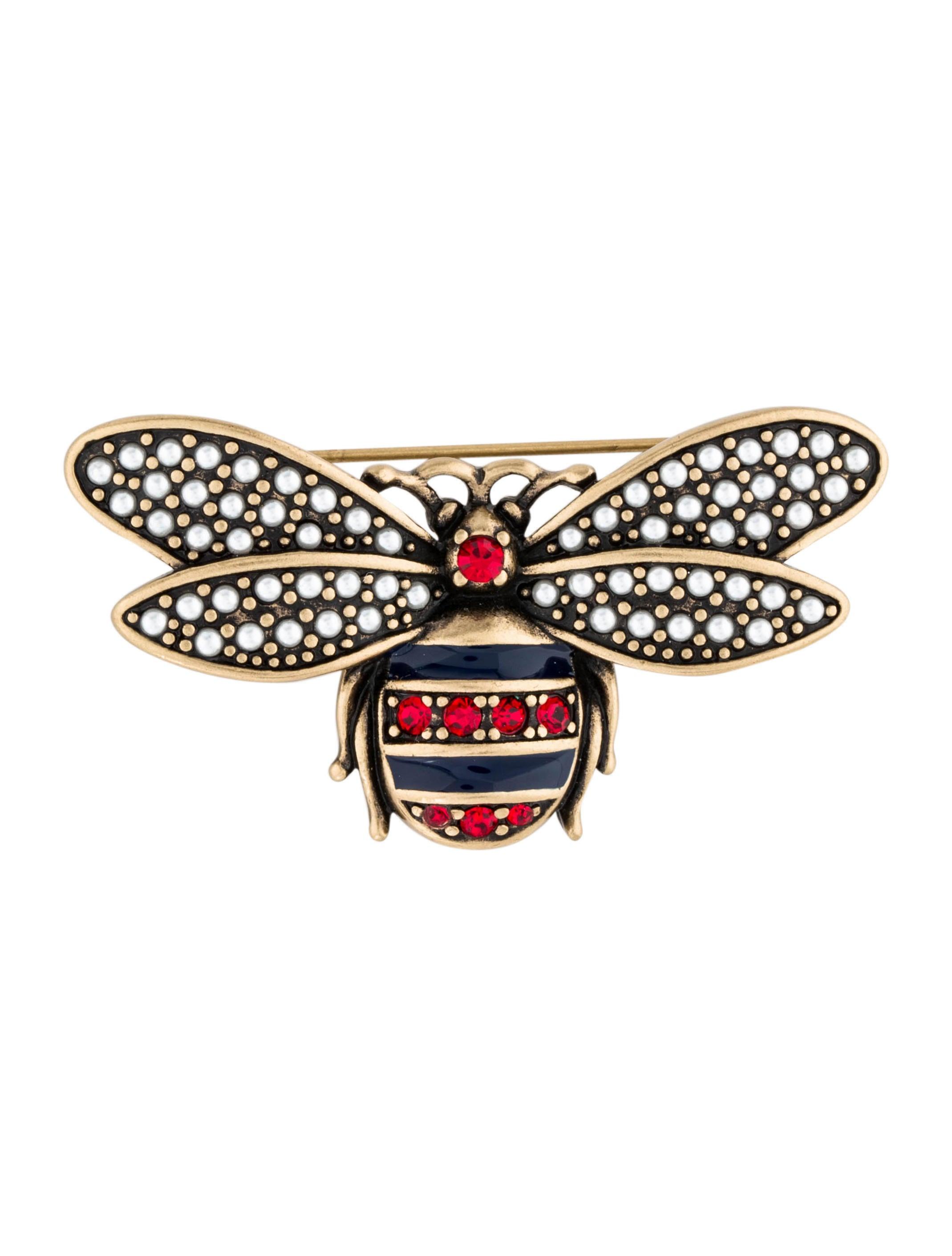 bb14c354790 Gucci Bee Brooch - Brooches - GUC230045
