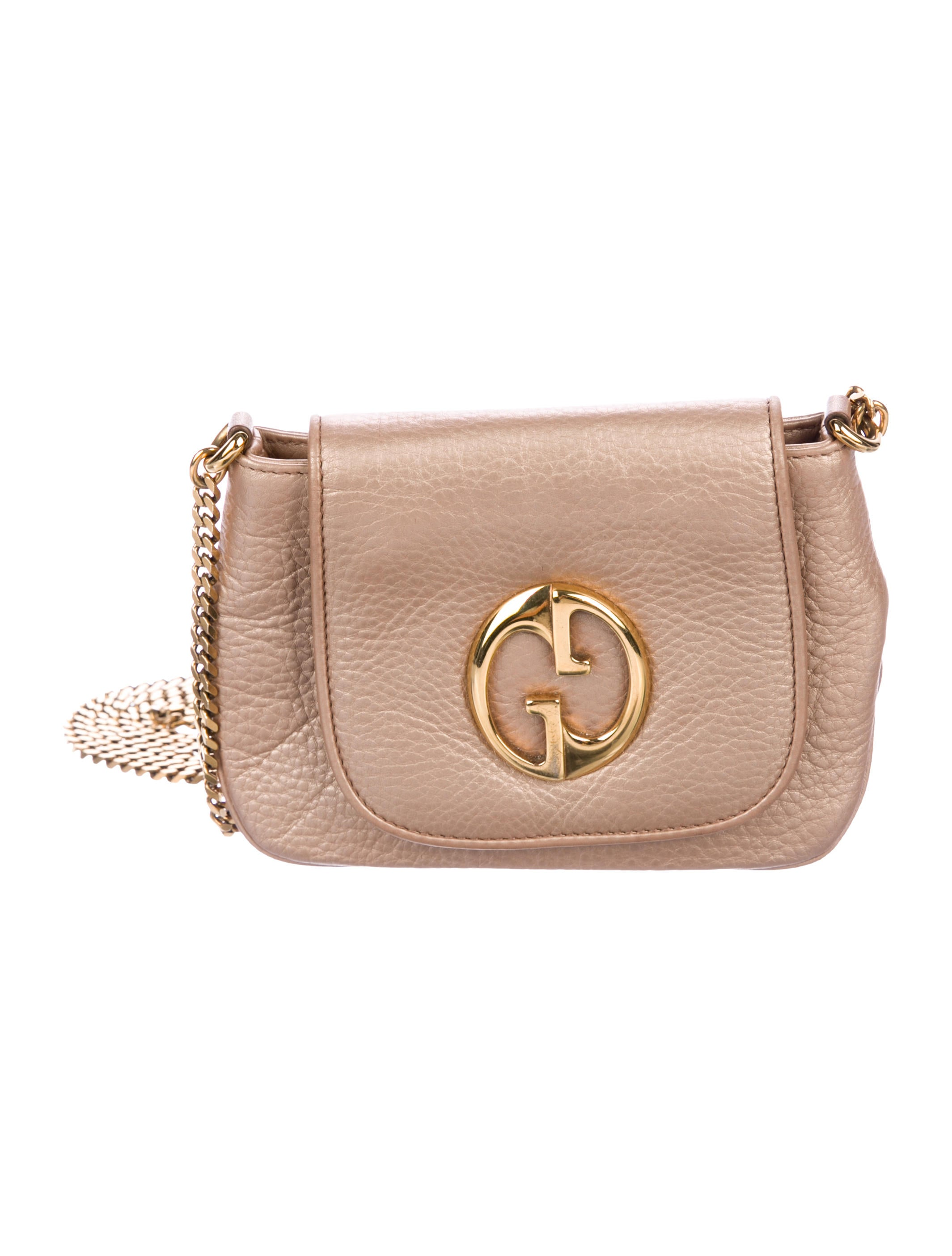 1f9a65ab6a8 Gucci 1973 Crossbody Bag - Handbags - GUC230920 | The RealReal