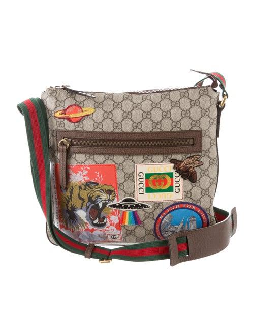 372c82a40b9d7f Gucci Courrier GG Supreme Messenger Bag - Handbags - GUC232013 | The ...