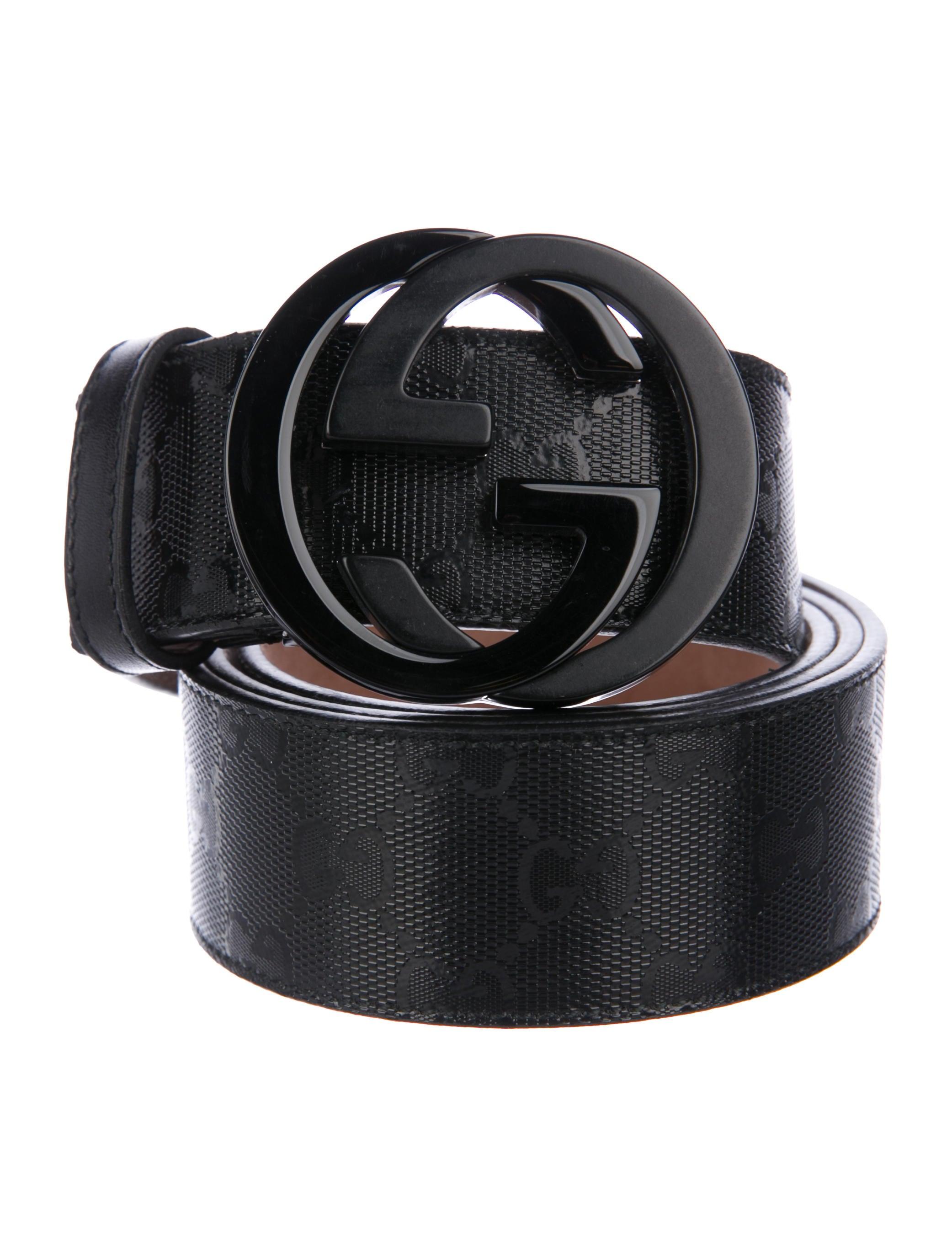 1b8ce2054d5 Gucci GG Imprimé Belt - Accessories - GUC233123