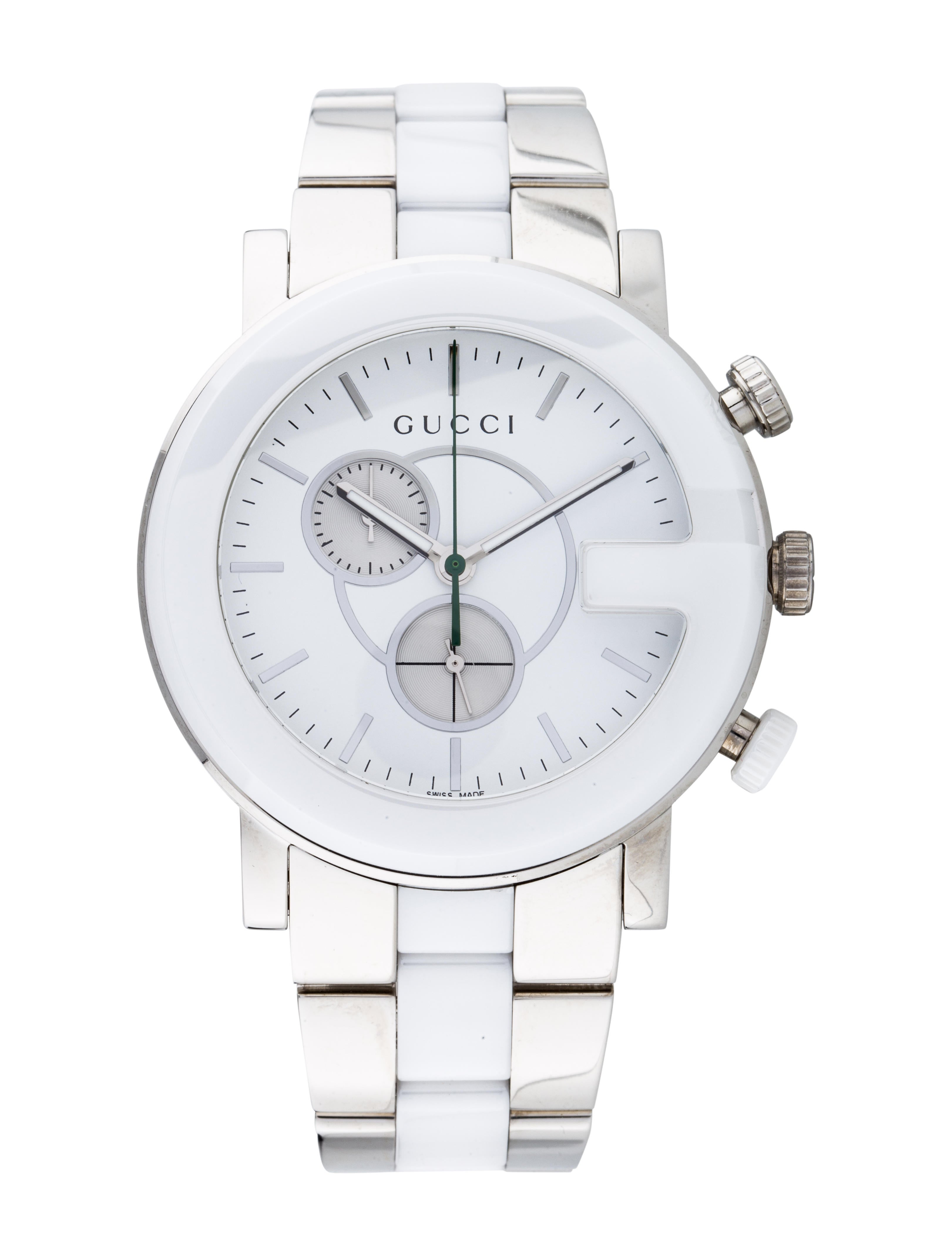 13332a2cb86 Gucci G-Chrono Watch - Bracelet - GUC235734