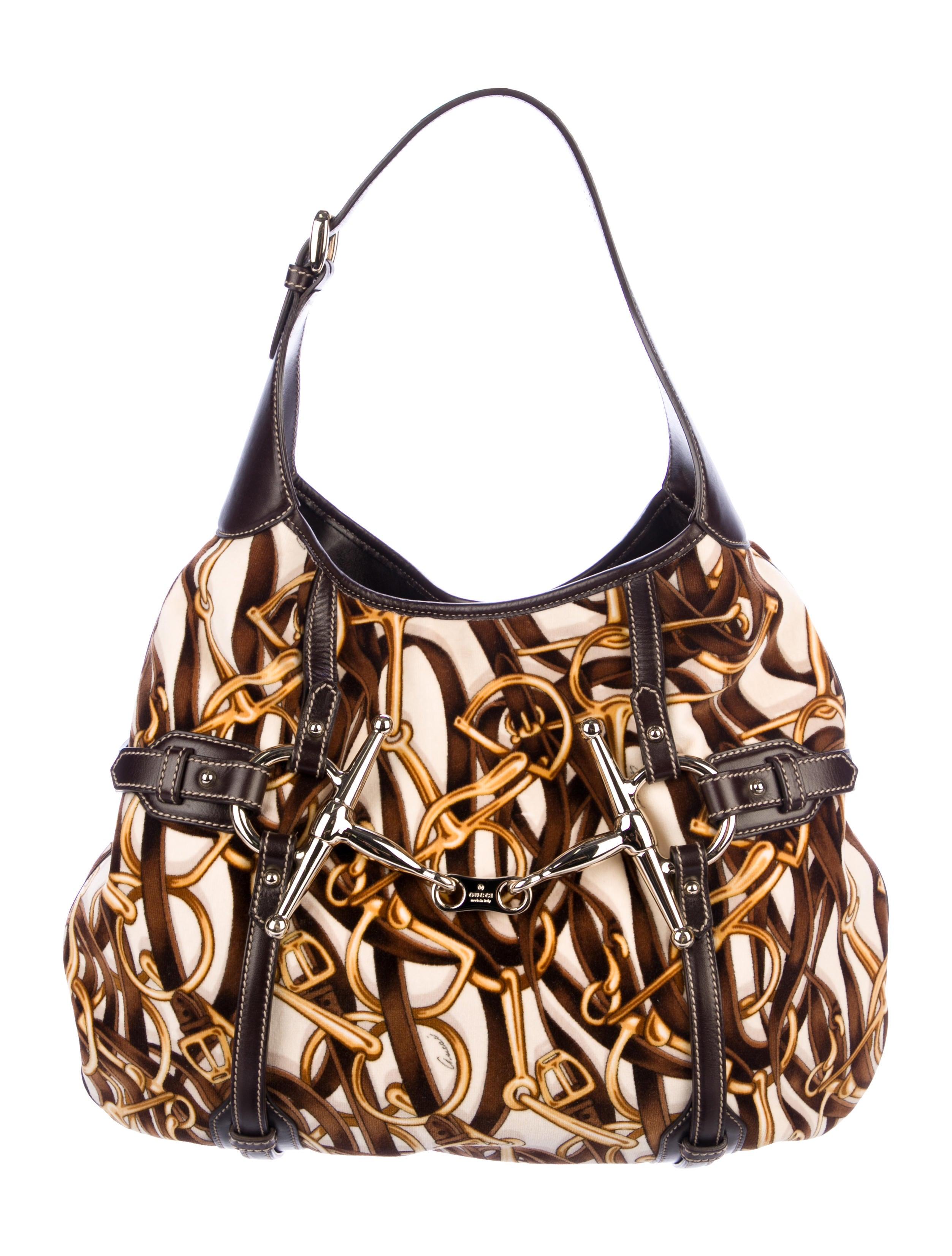 870799dd36bb Gucci 85th Anniversary Horsebit Hobo - Handbags - GUC237968 | The ...