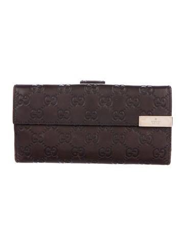 84fed674a3b Gucci. Guccissima Continental Wallet