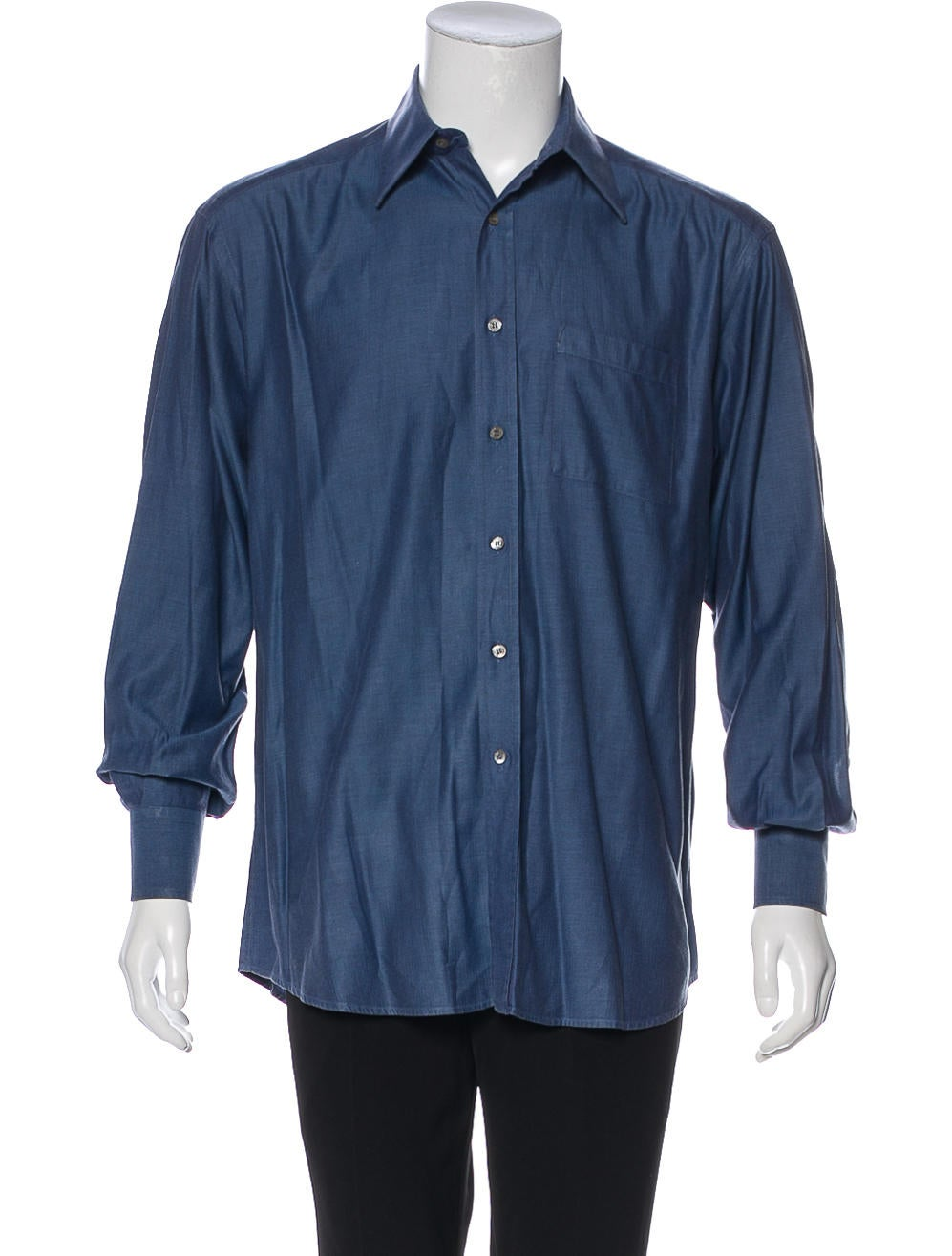 Gucci Woven Dress Shirt Clothing Guc240294 The Realreal