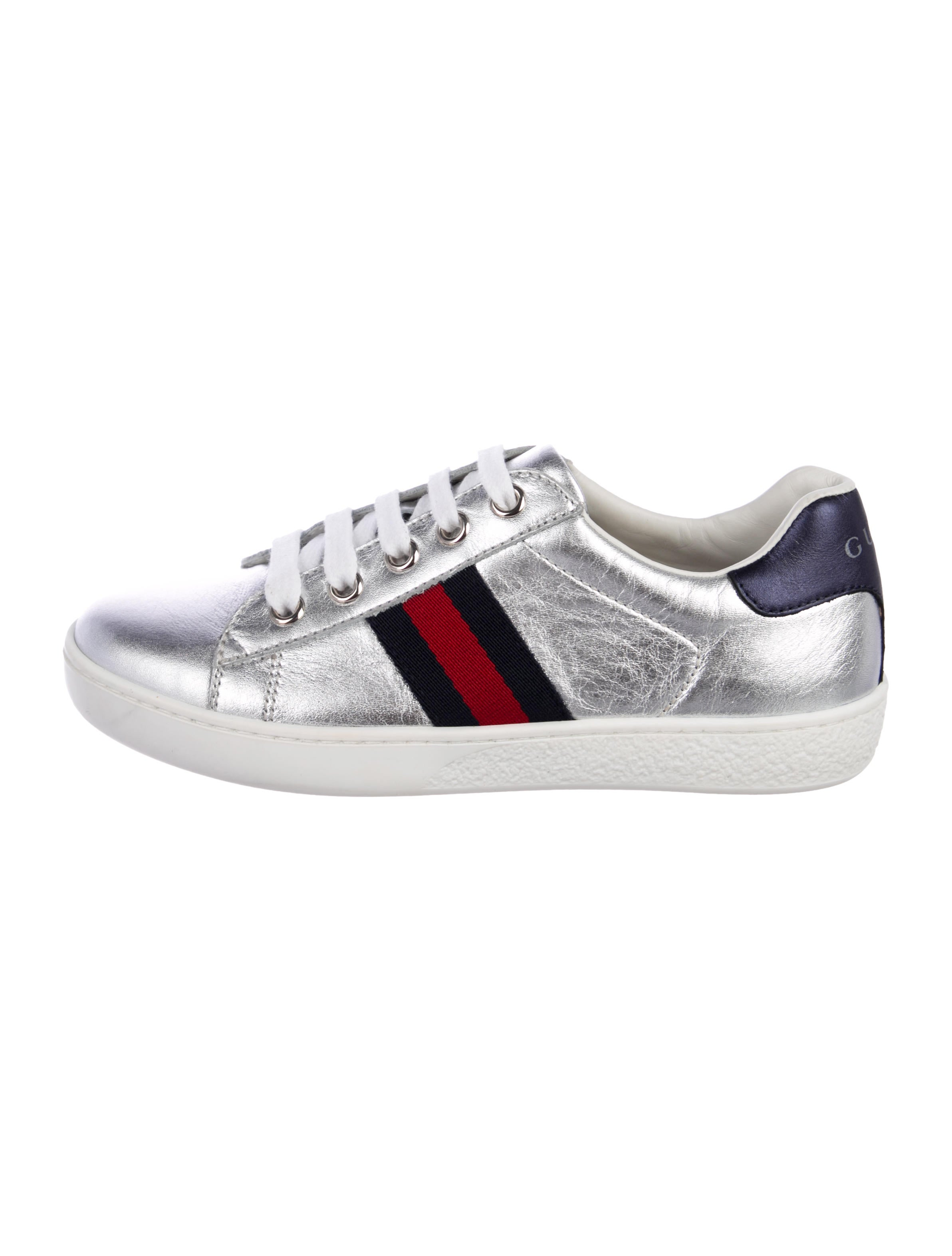 c716ff4ac9f Gucci Boys  Leather Low-Top Sneakers - Boys - GUC241466