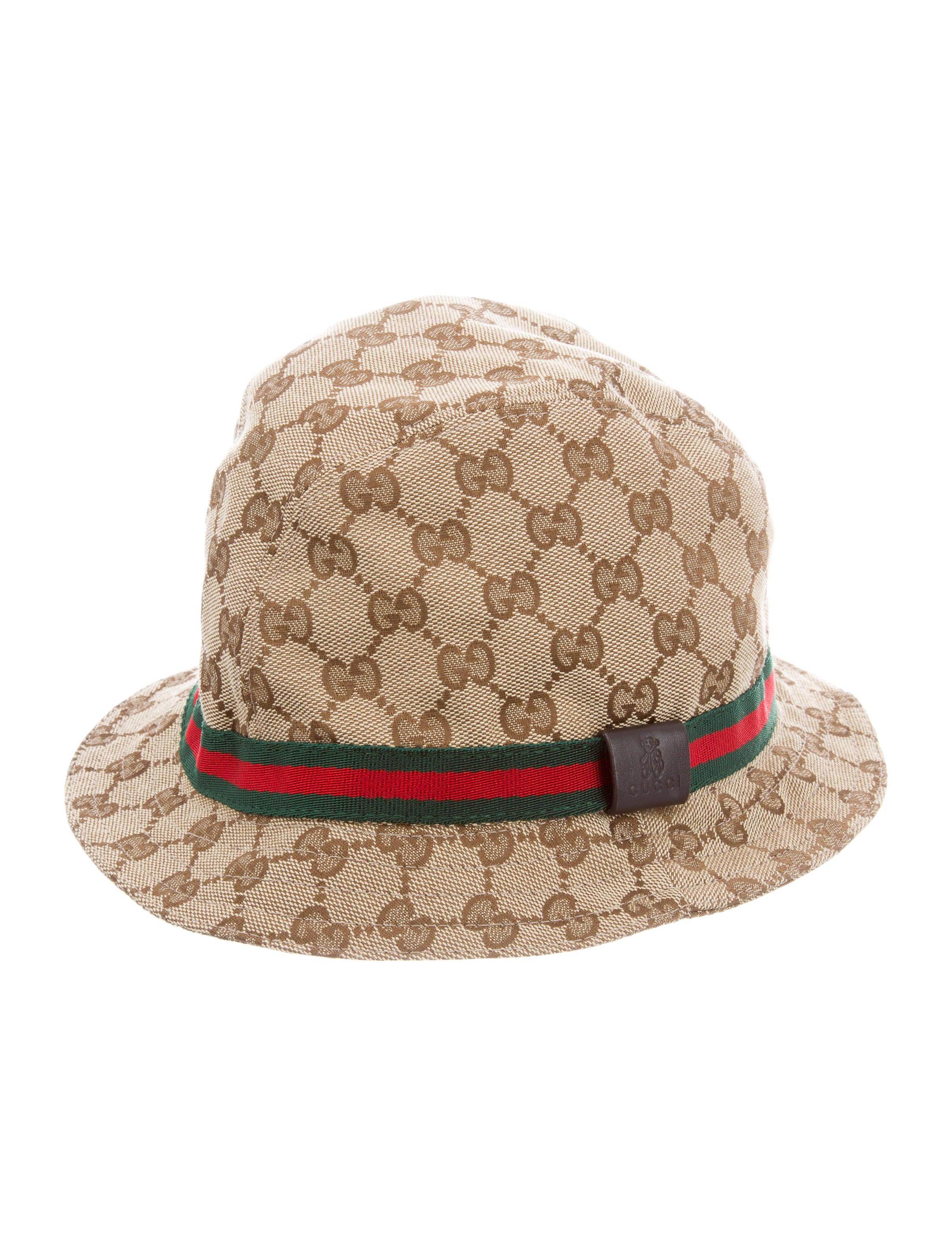 bbc966a11 Boys' Canvas GG Web Bucket Hat