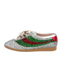 0a6f7271180 Gucci Gucci Falacer Glitter Sneaker - Shoes - GUC244066