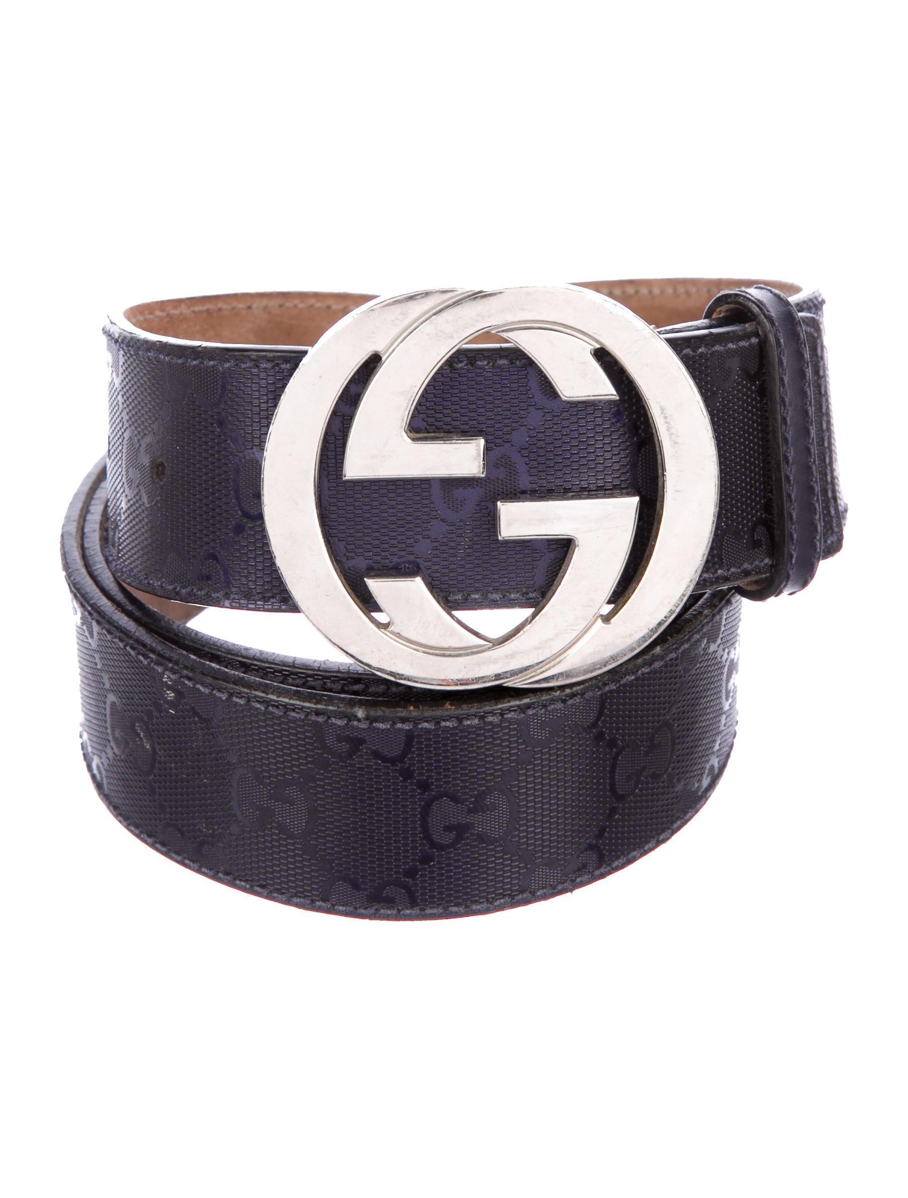 327f235bae7 Gucci GG Imprimé GG Belt - Accessories - GUC244840