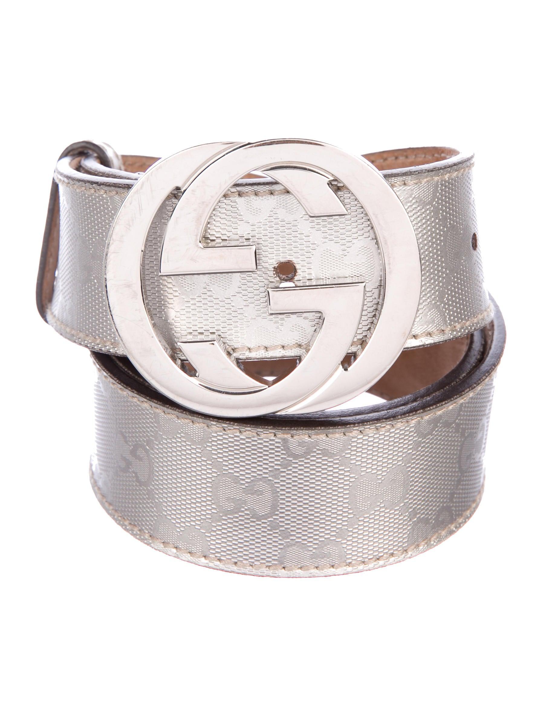 dd54a1a7baa Gucci GG Imprimé GG Belt - Accessories - GUC244843