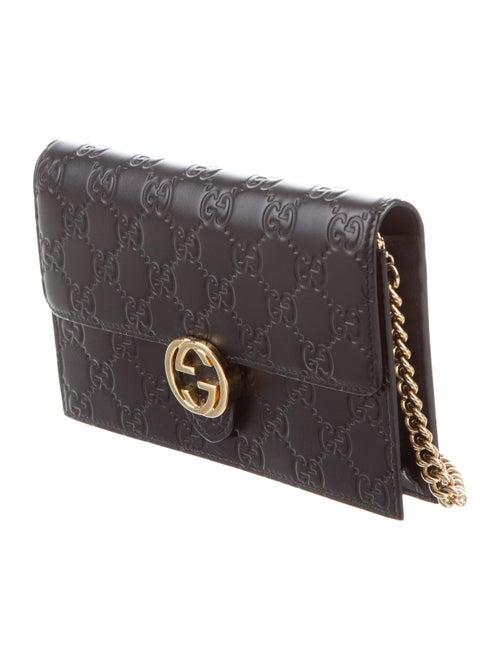 a1e2c4d53e3d4b Gucci Icon Gucci Signature Chain Wallet - Handbags - GUC245405 | The ...