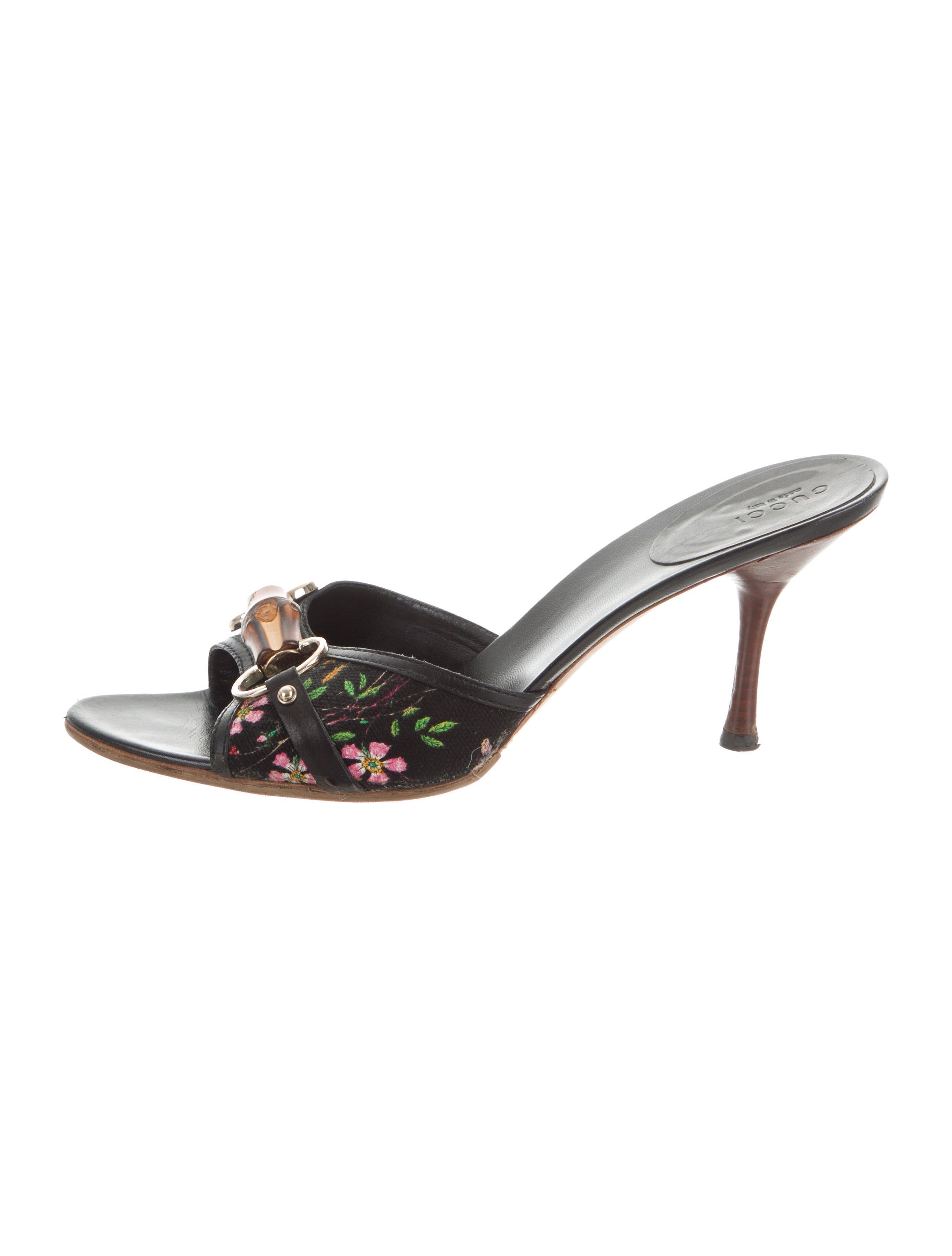 faf172d75f5 Gucci Bamboo Horsebit Sandals - Shoes - GUC246017