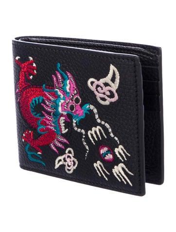 0d1797a2ffa Gucci Cellarius Embroidered Wallet - Accessories - GUC247295