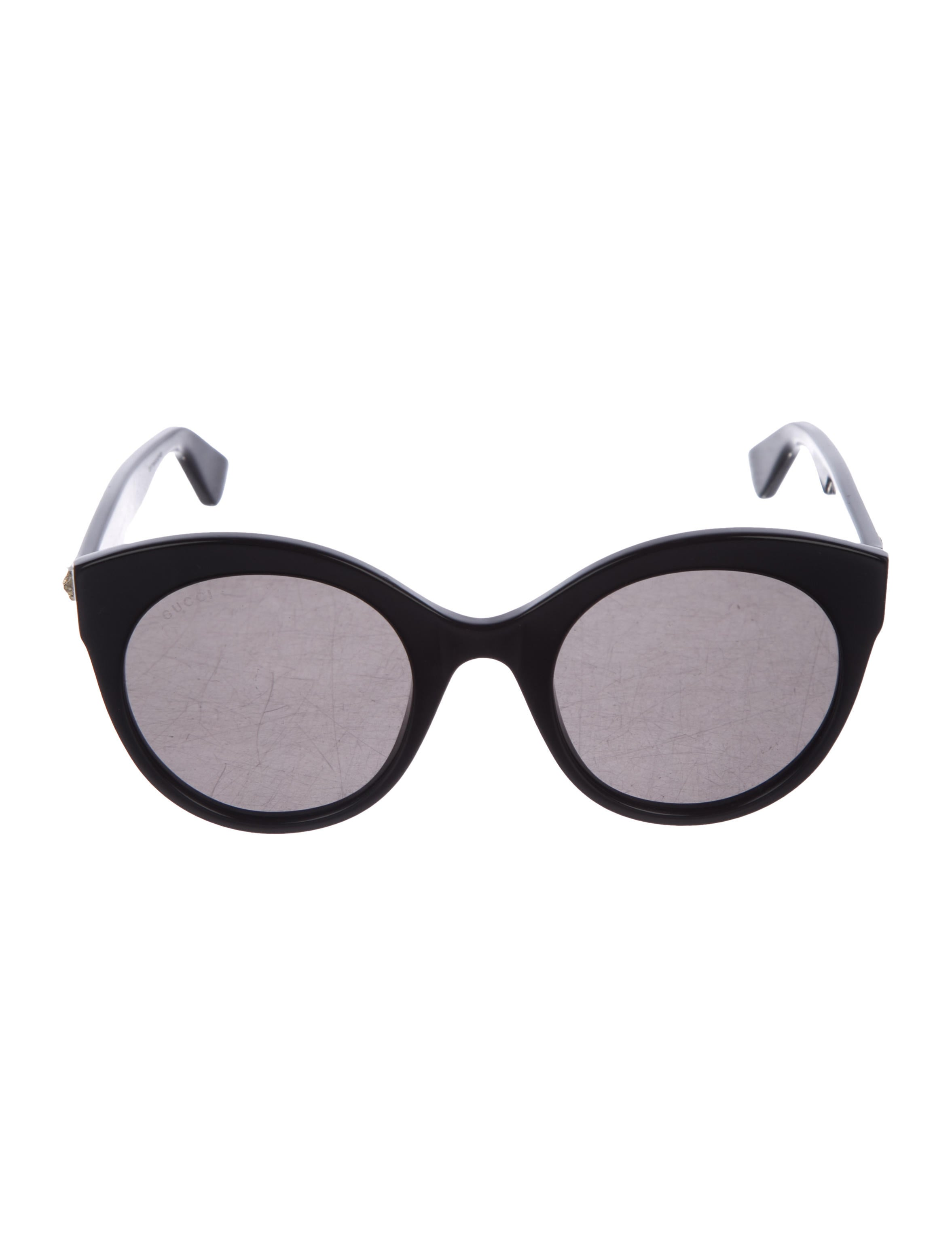 44f53fe452c Gucci Round Cat-Eye Sunglasses - Accessories - GUC247428