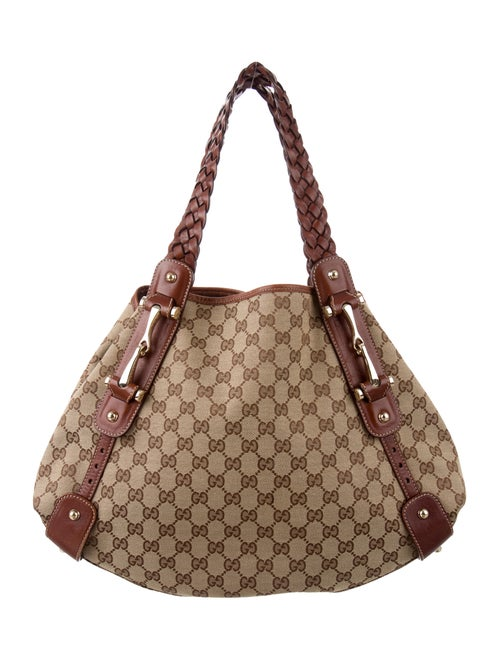 5a9ad72cc109 Gucci GG Canvas Medium Pelham Tote - Handbags - GUC247614 | The RealReal