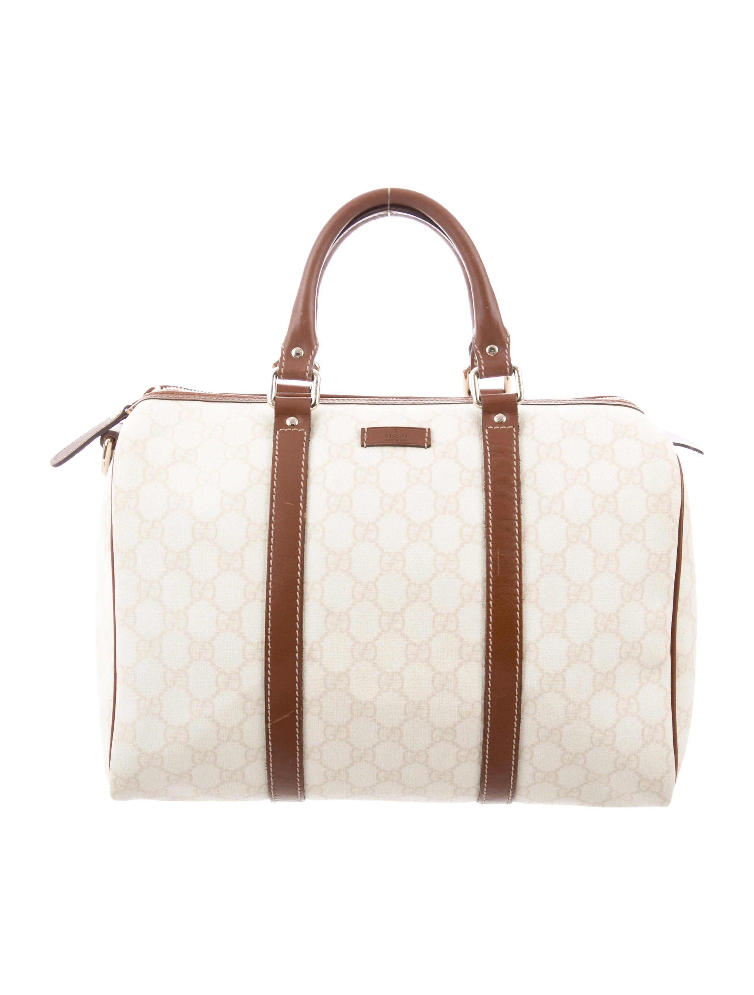 901843f35c4a7e Gucci GG Supreme Joy Boston Bag - Handbags - GUC247986 | The RealReal