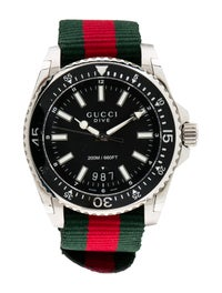 fb403f13acf Gucci Dive Watch - Strap - GUC248143