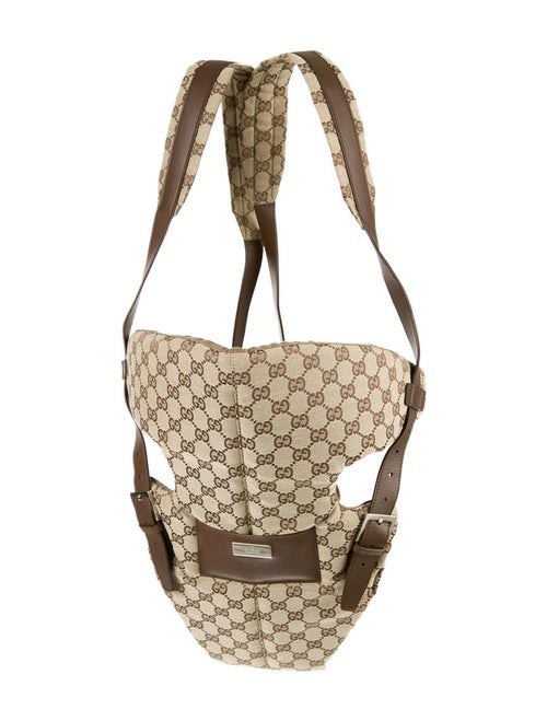 Gucci GG Canvas Baby Carrier - GUC24825