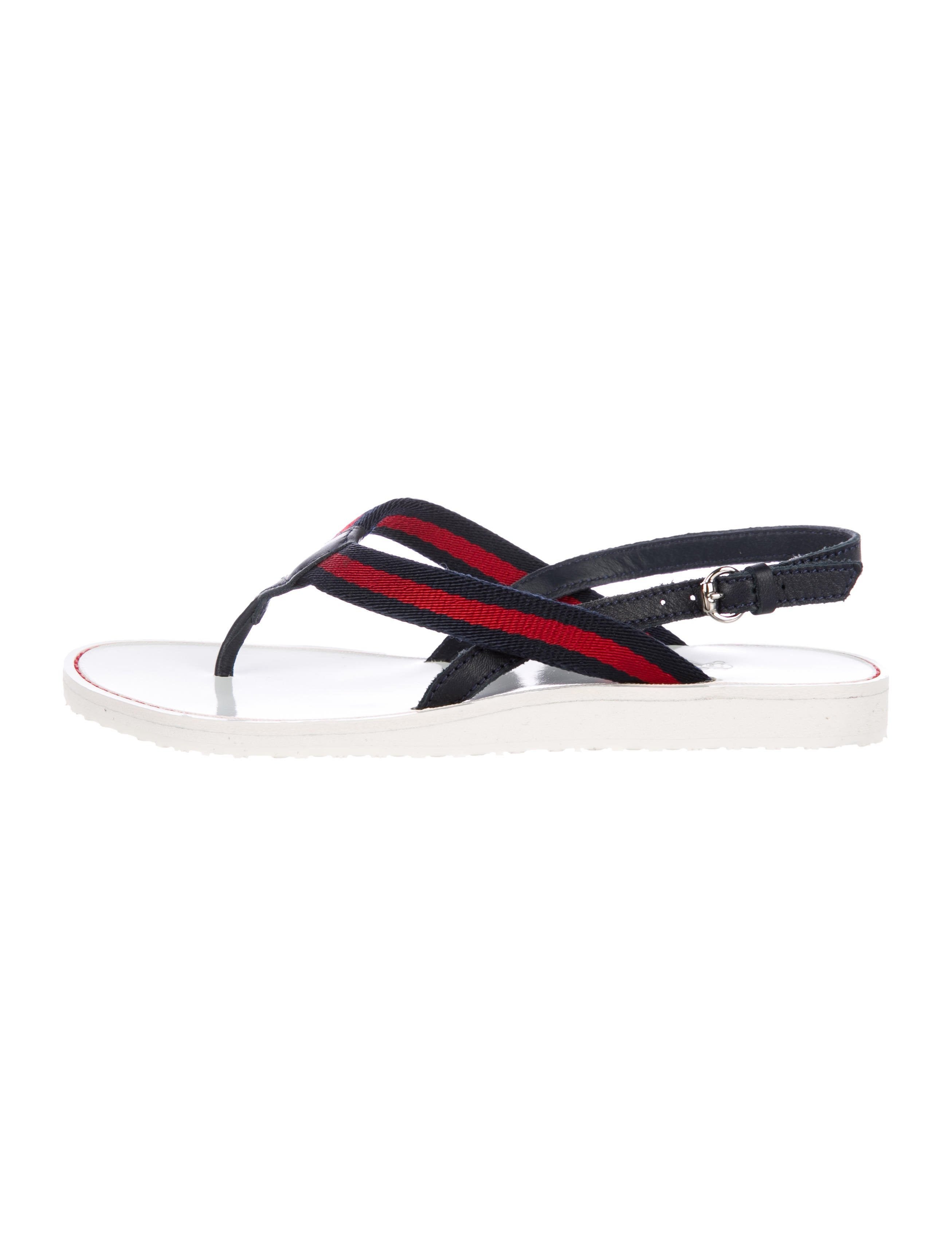2332e344639f Gucci Girls  Slingback Web Sandals w  Tags - Girls - GUC248672
