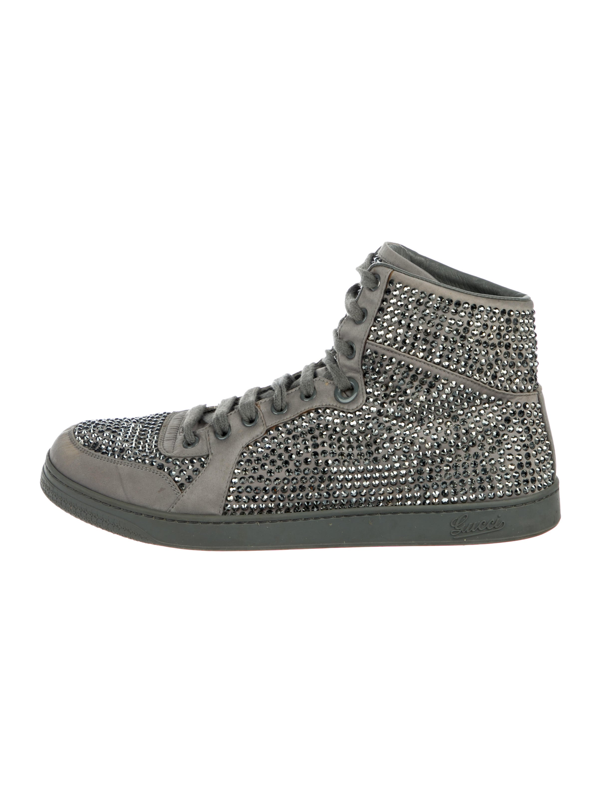 3f1f5f0880a Gucci Coda Crystal Embellished Sneakers - Shoes - GUC249474