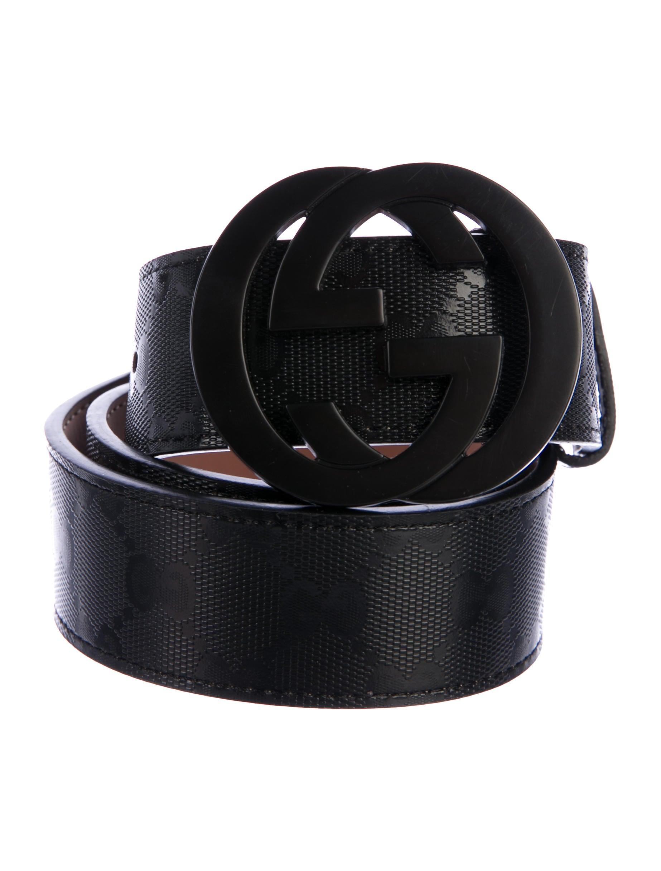 2cafb35dcde Gucci GG Imprimé GG Belt - Accessories - GUC250477