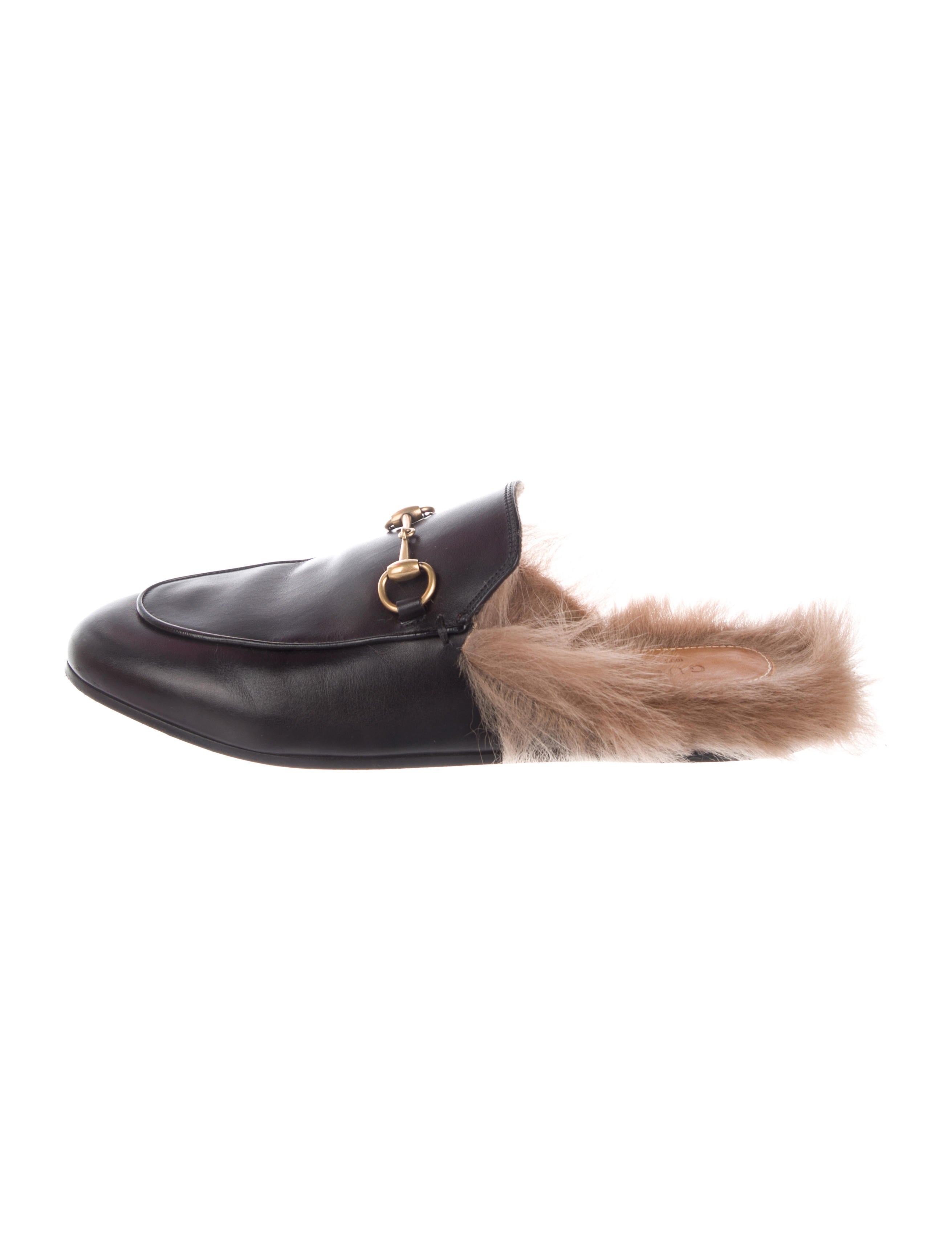 f249d16f5 Gucci Princetown Horsebit Mules - Shoes - GUC251254 | The RealReal