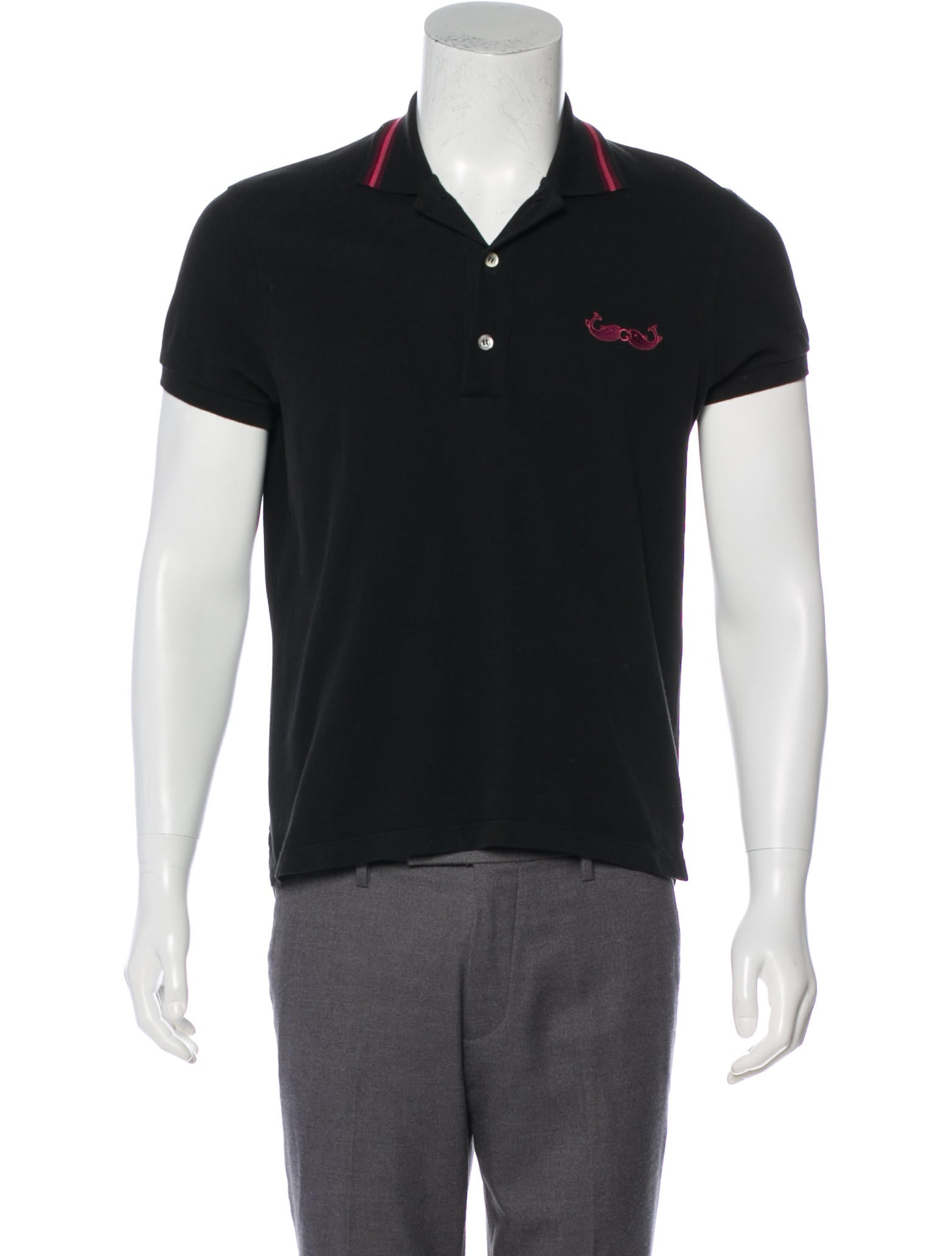 5982e113 Mens Black Gucci Polo Shirt – EDGE Engineering and Consulting Limited