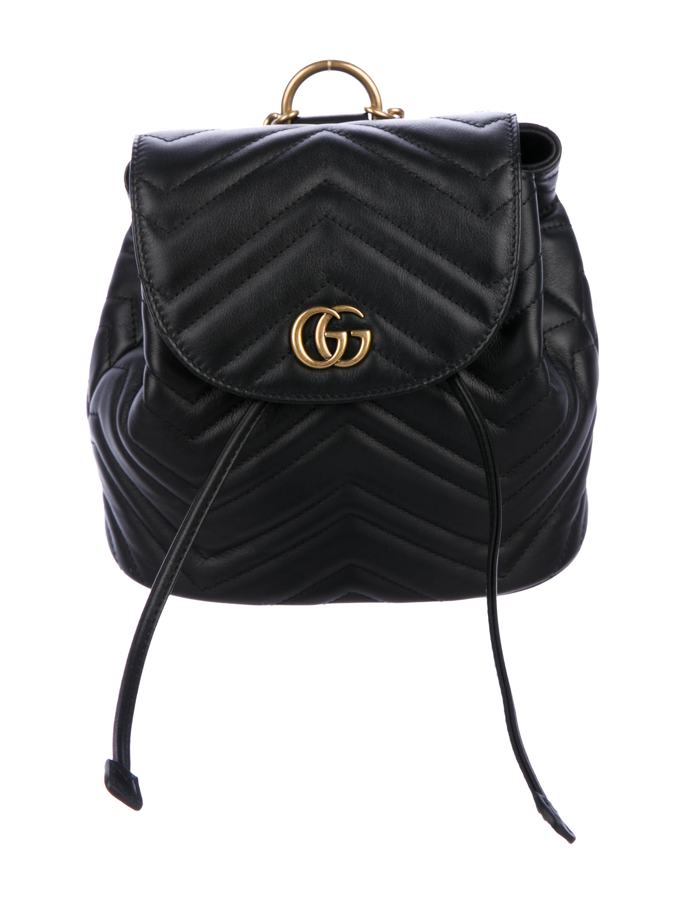 1064442e2 Black Gucci Backpack With Gold Chain | Building Materials Bargain Center
