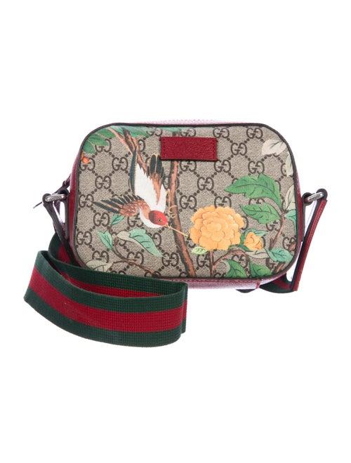 da53ae826 Gucci Monogram GG Supreme Tian Shoulder Bag - Handbags - GUC253032 ...