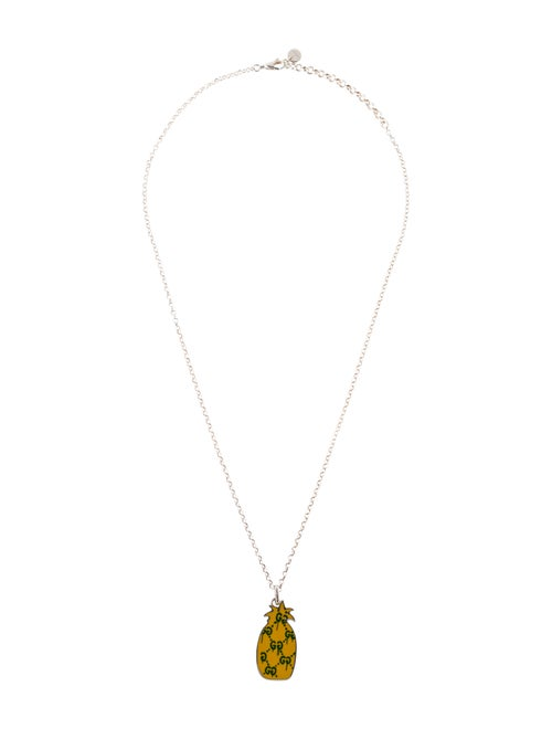 14ae4e85a Gucci Ghost Pineapple Pendant Necklace - Necklaces - GUC253528 | The ...