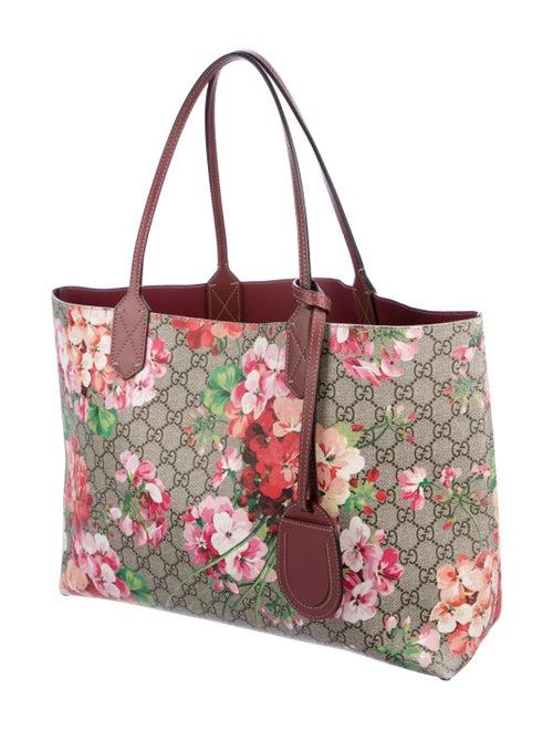 9e2c084e0 Gucci Medium Reversible GG Blooms Tote - Handbags - GUC253664 | The ...
