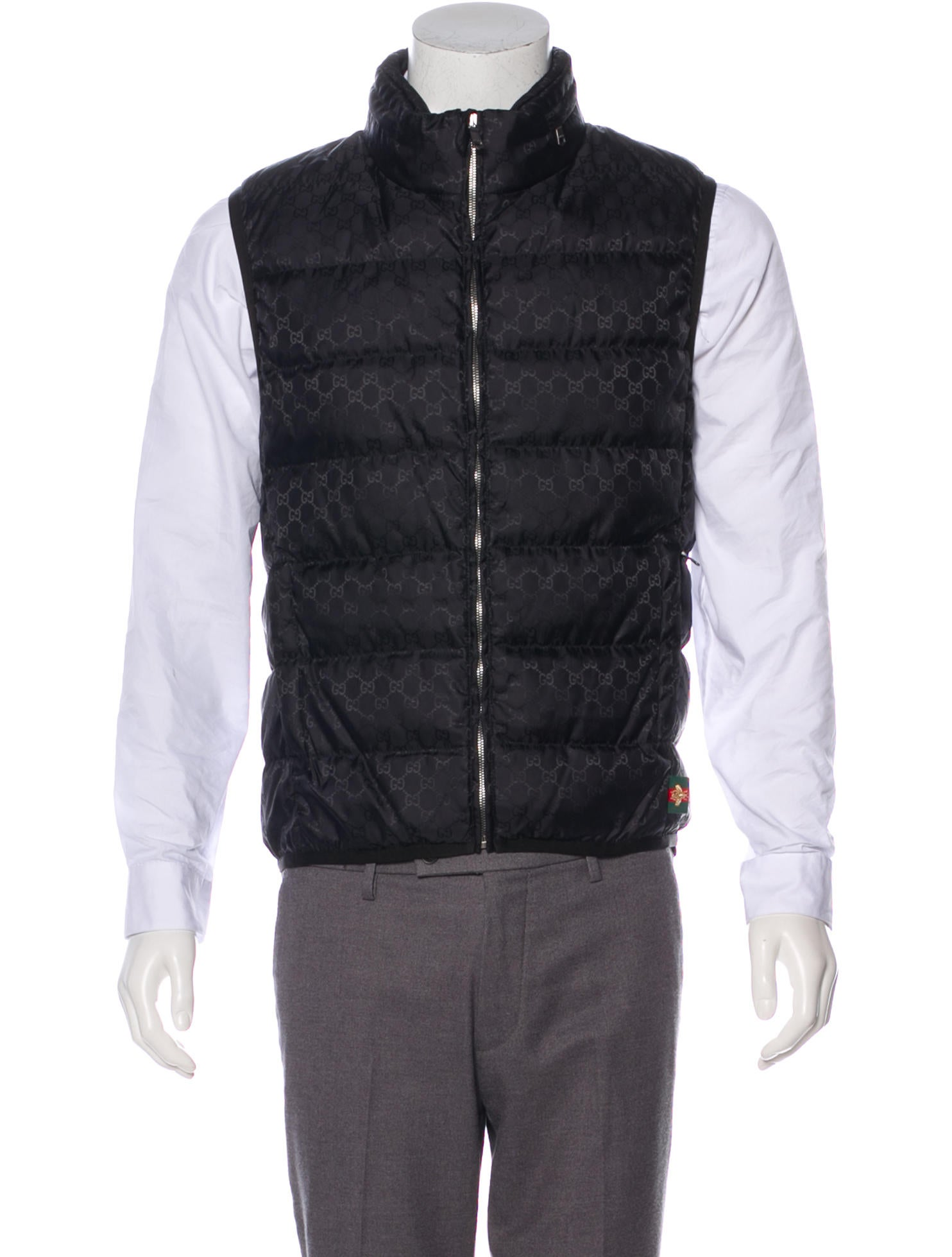 dff83eb65 Gucci Quilted GG Down Vest - Clothing - GUC253673 | The RealReal