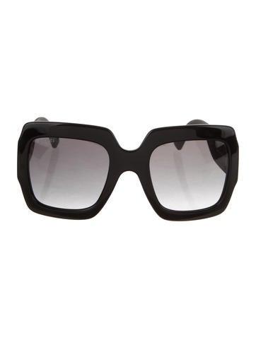 f81d168d484 Gucci. Square Oversize Sunglasses