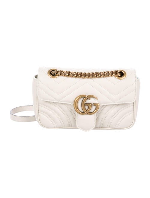 2d1cd73d1b7 Gucci Small GG Marmont Matelassé Bag - Handbags - GUC254591 | The ...