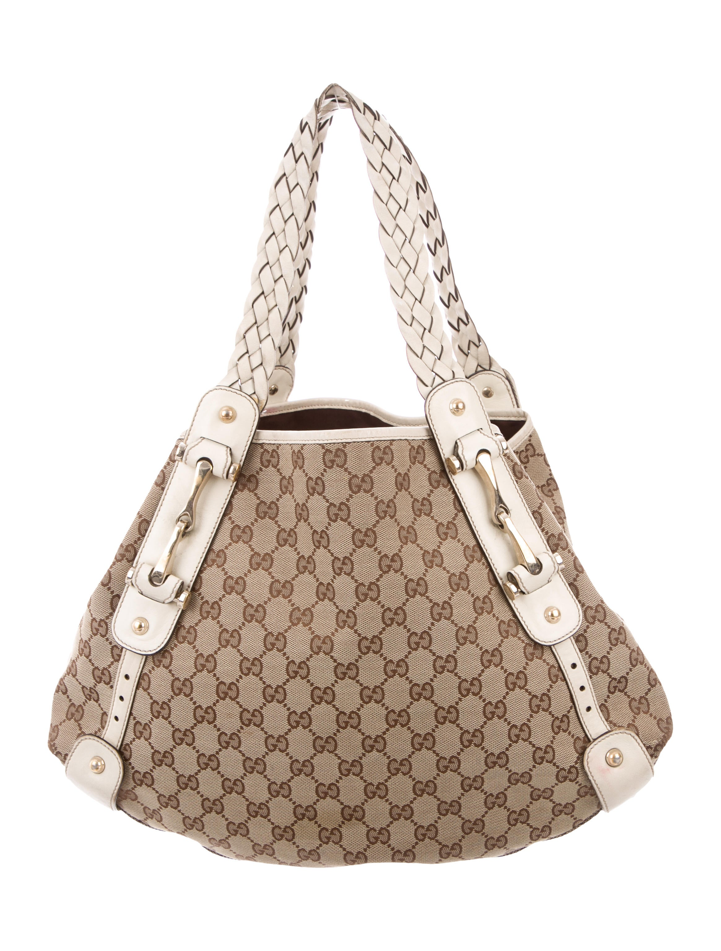 616f1cd5ec46 Gucci GG Canvas Medium Pelham Tote - Handbags - GUC255146 | The RealReal