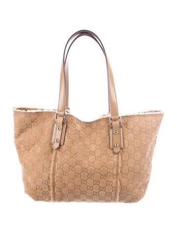 3c3083f9e1b Gucci Guccissima Jolicoeur Tote - Handbags - GUC255437
