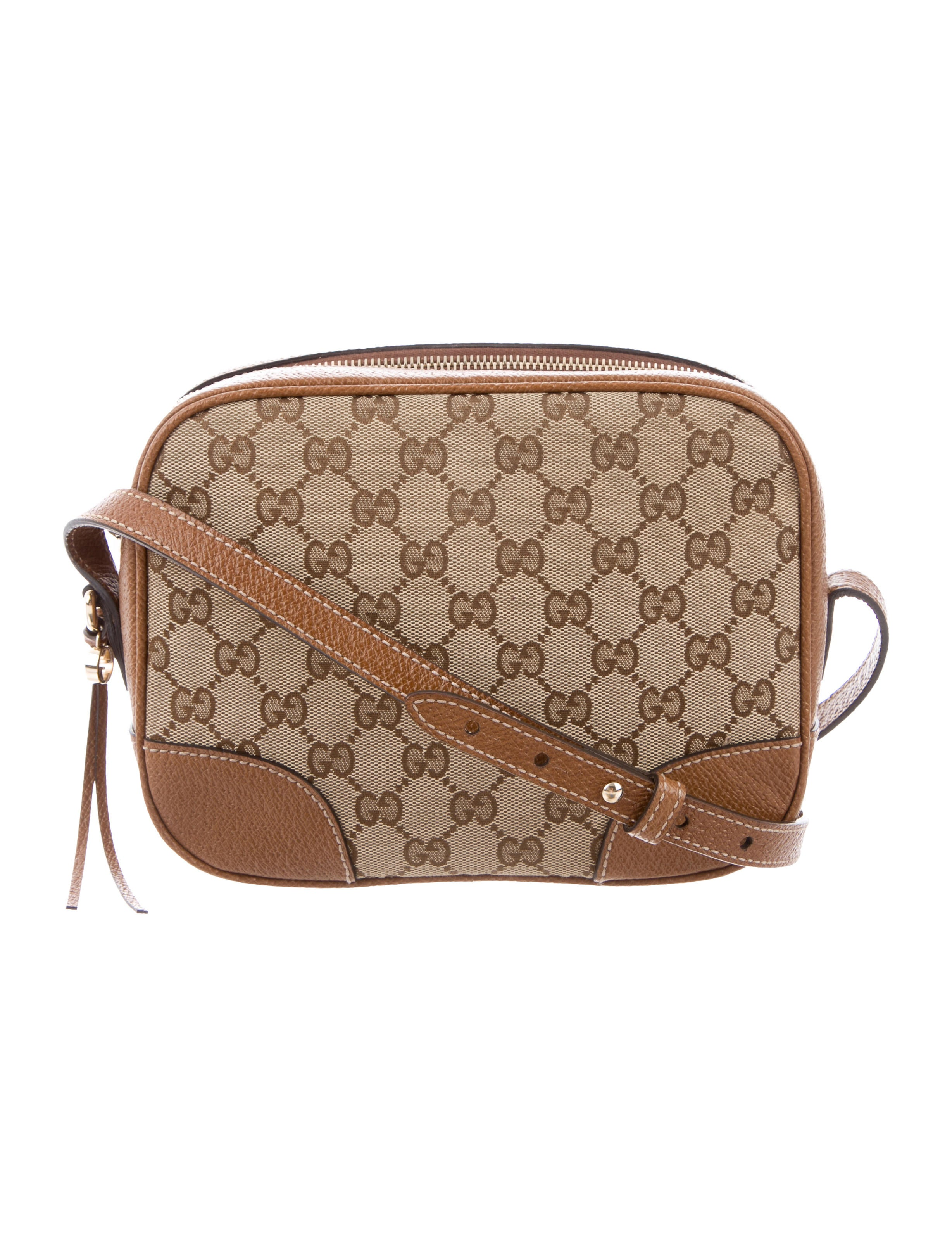 Gg Canvas Bree Messenger Bag by Gucci